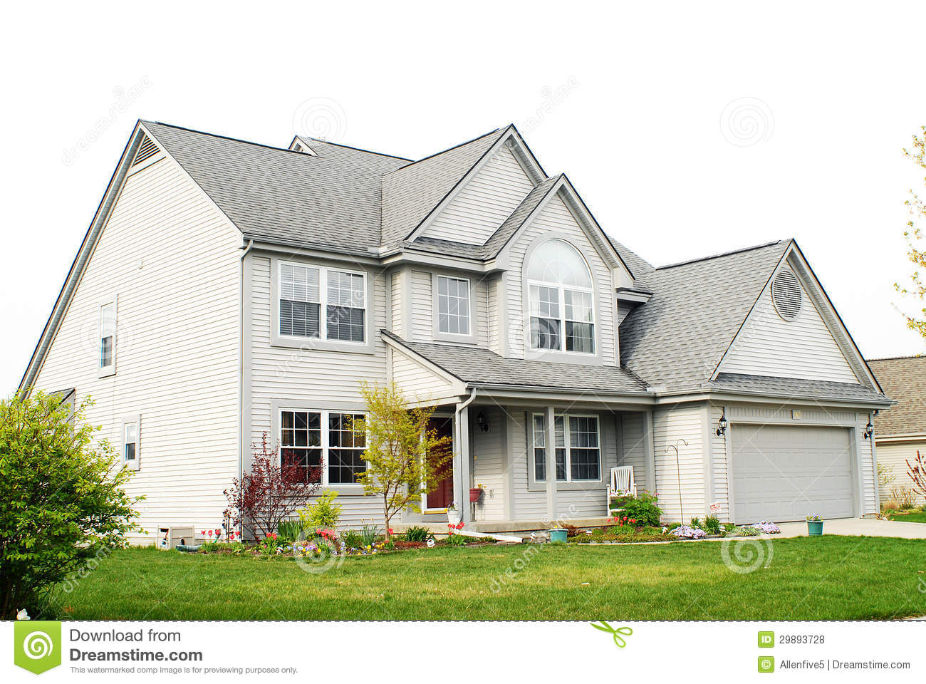 Two story house royalty free stock photos image 29893728 Modern 2 story homes