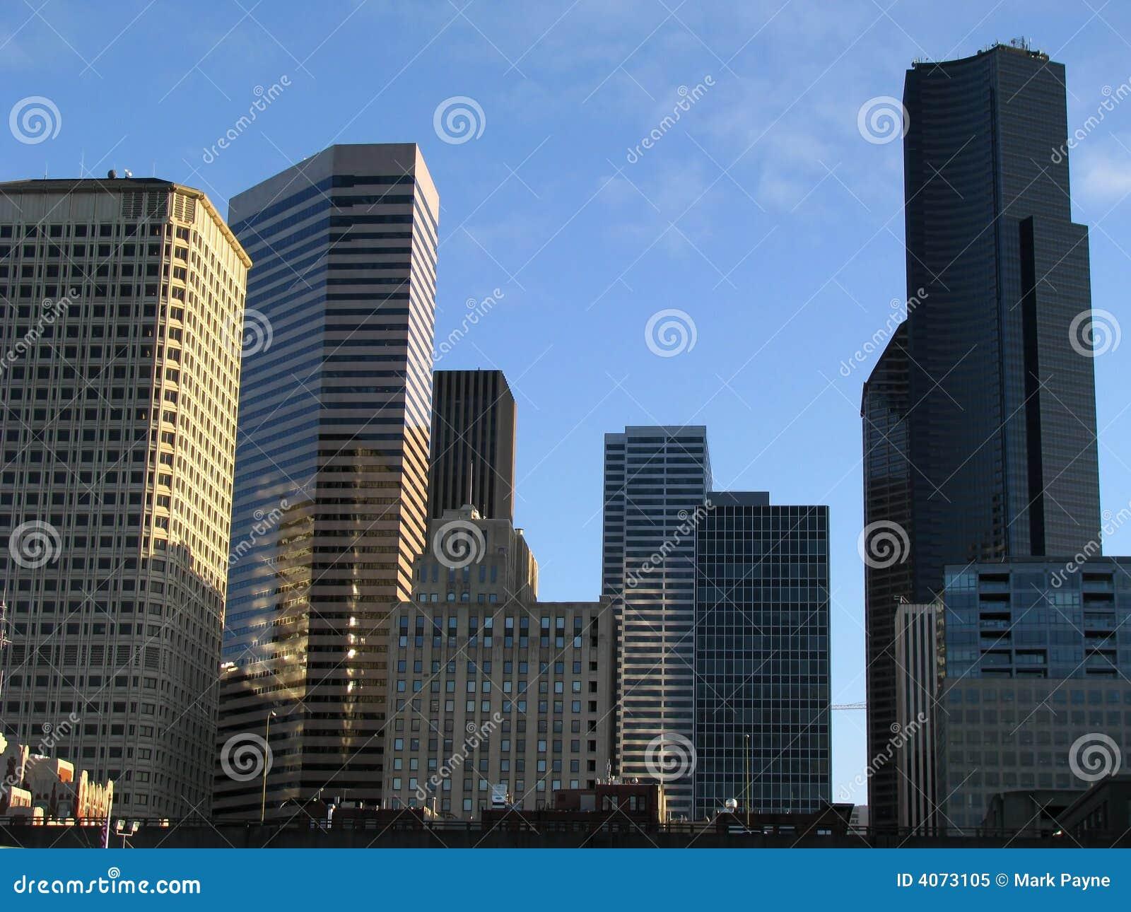 modern urban buildings v1 stock image image of modern 4073105