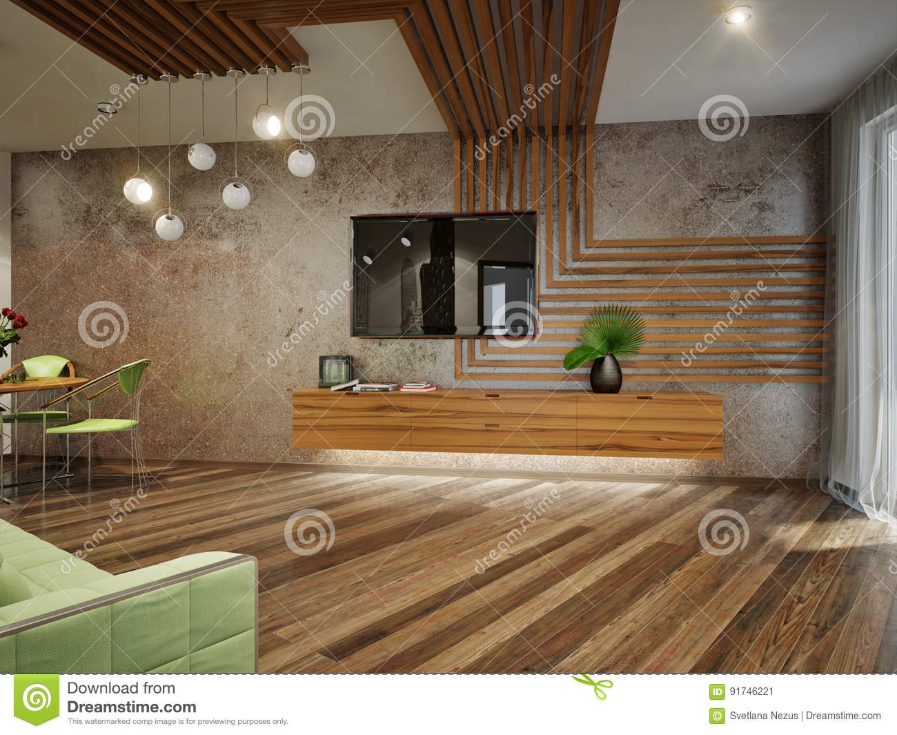 Modern urban contemporary living room interior design stock illustration illustration of Contemporary urban living room