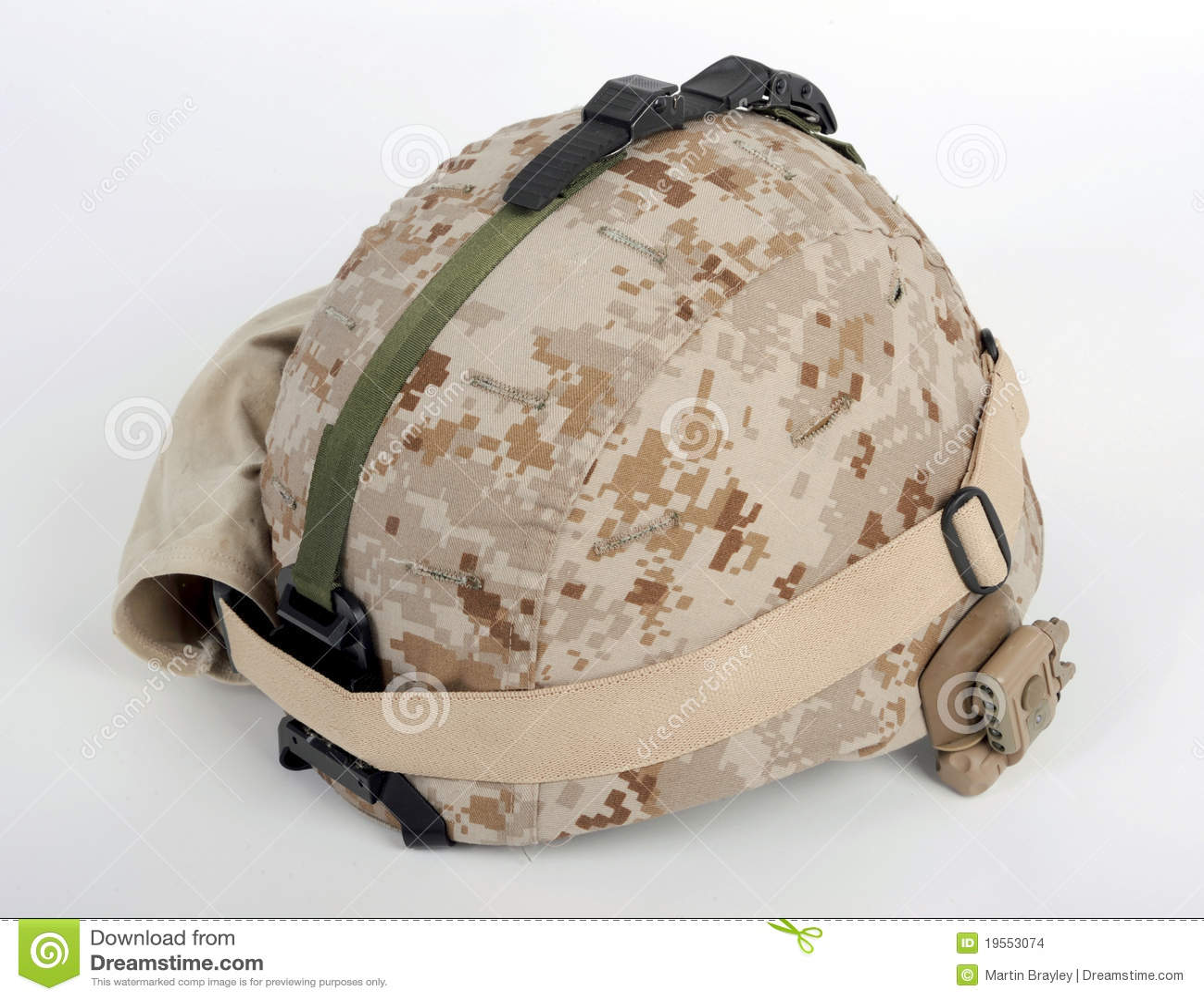 modern usmc lwh combat helmet stock photo