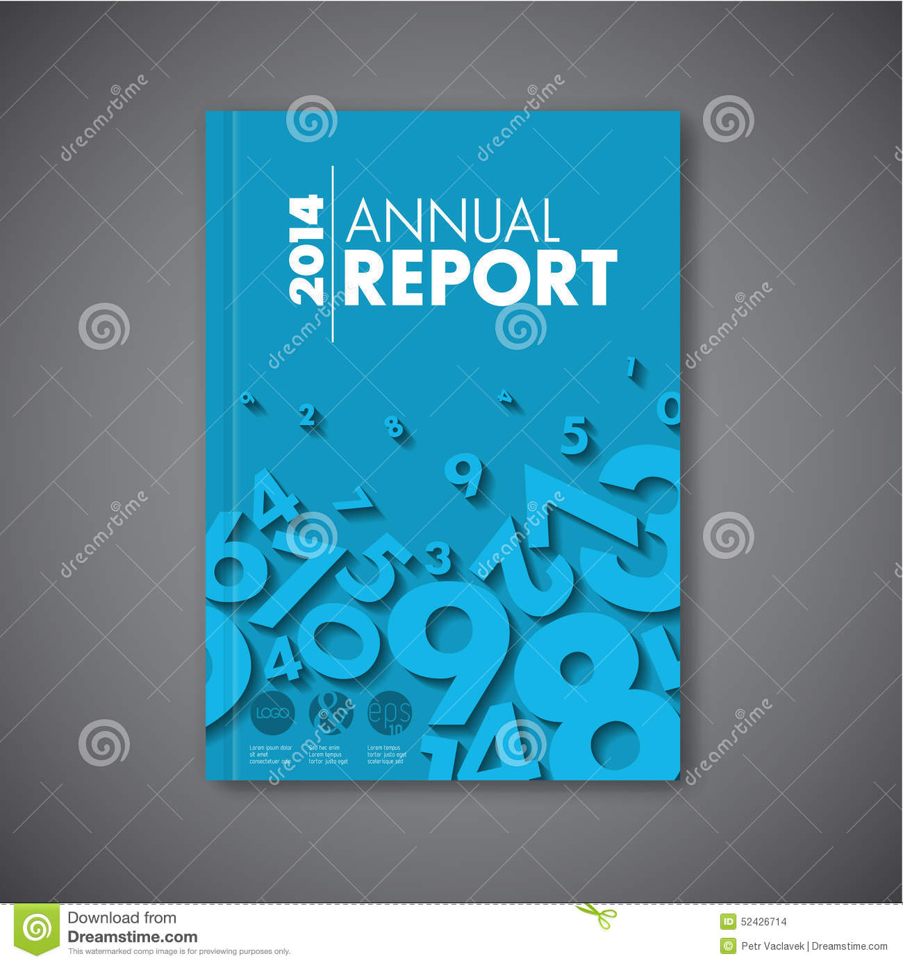 modern vector abstract annual report design template stock modern vector abstract annual report design template