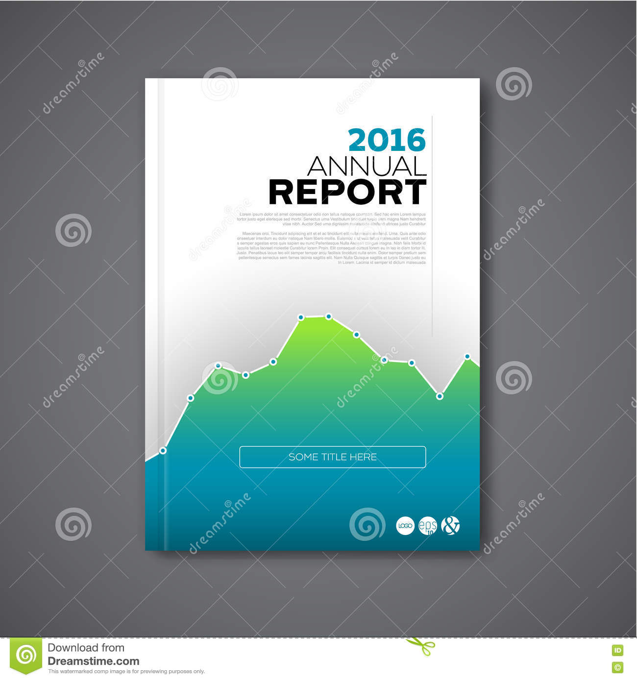 Modern Vector Annual Report Design Template Stock Vector Image .  Cover Template