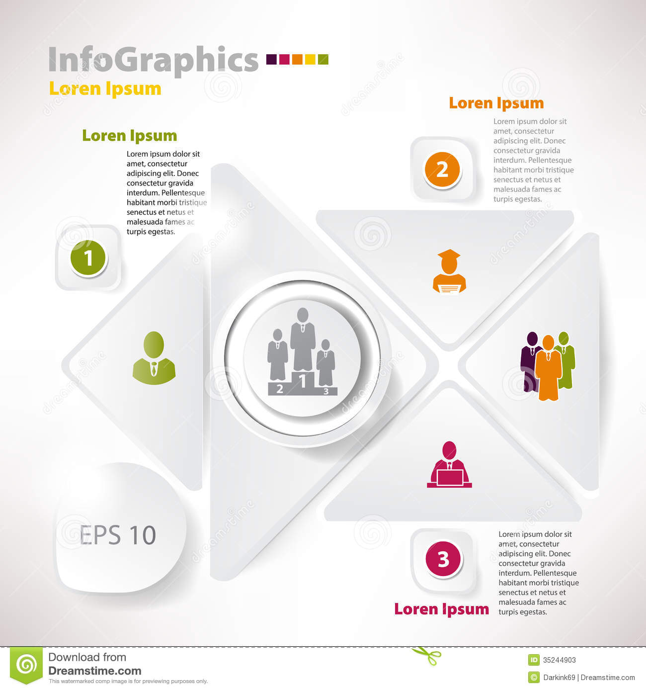 Modern Vector Elements For Infographics For Business