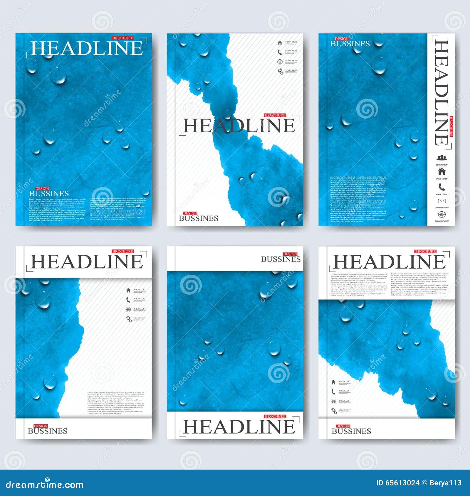 Design Science Journal Cambridge: Modern Vector Templates For Brochure, Flyer, Cover
