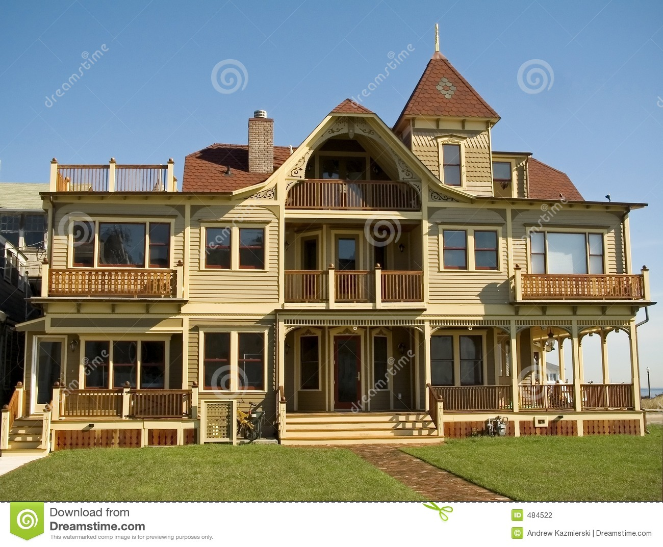 Modern victorian stock photography image 484522 Modern victorian architecture