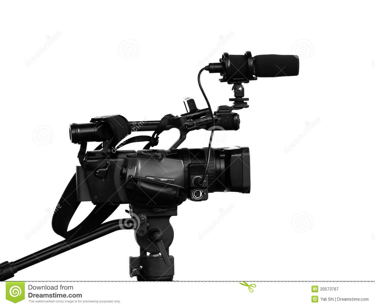 Modern Video Camera Stock Image Of Mike Lever