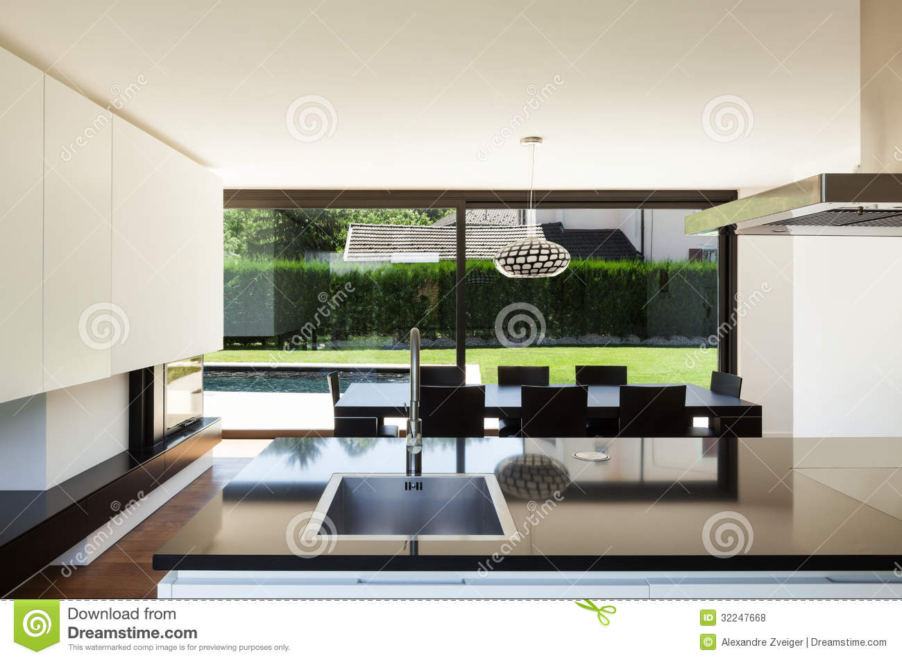 Modern villa interior royalty free stock photos image 32247668 - Modern villa interieur ...
