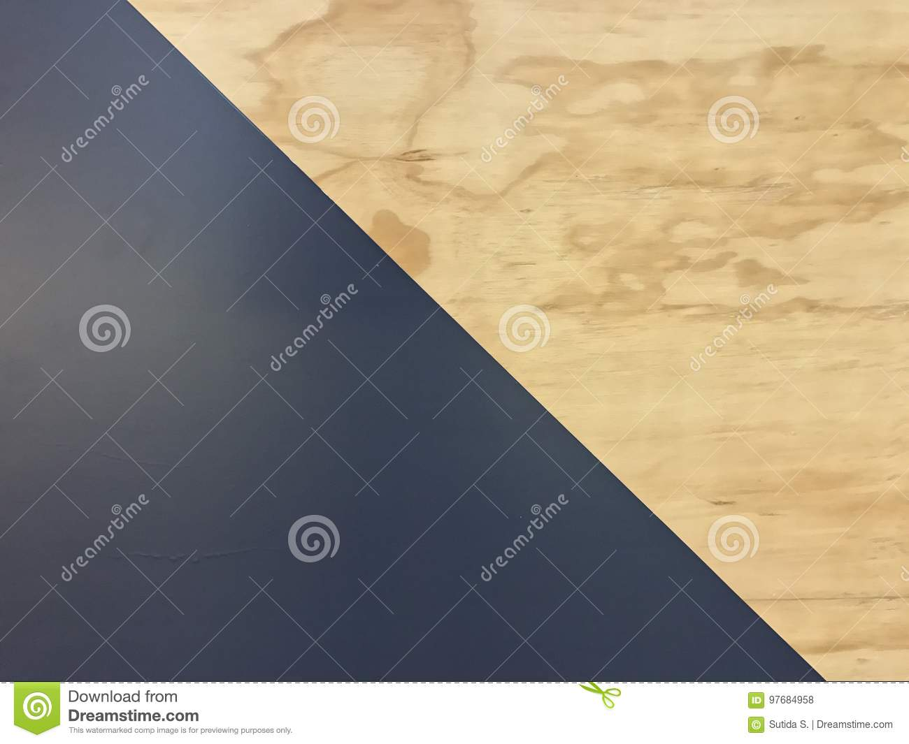 Modern wall decoration stock photo. Image of house, abstract - 97684958