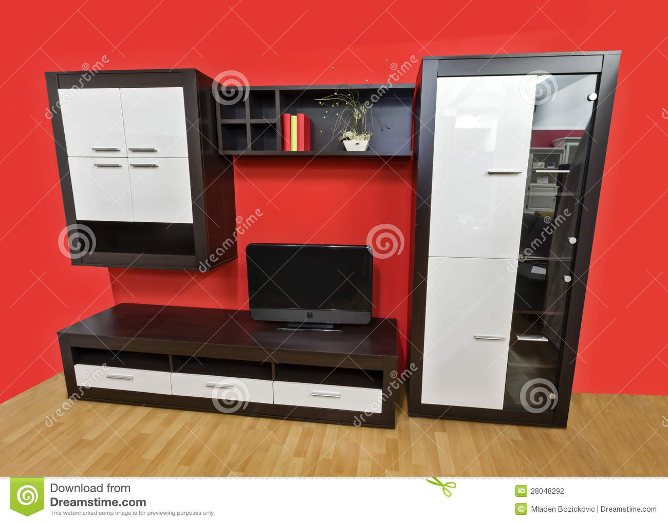 Modern Wall Unit Stock Photography Image 28048162