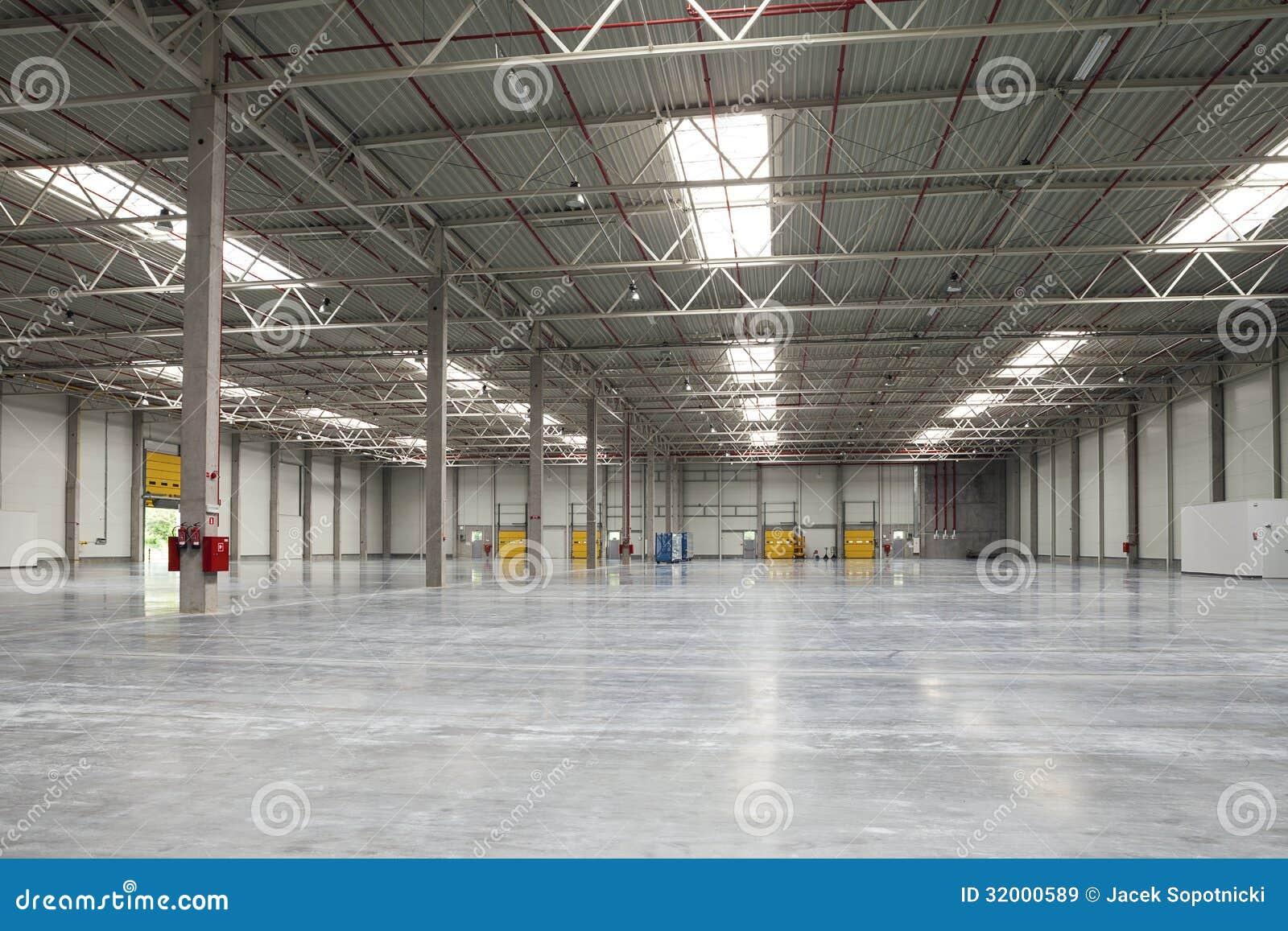 Modern Warehouse Royalty Free Stock Images Image 32000589
