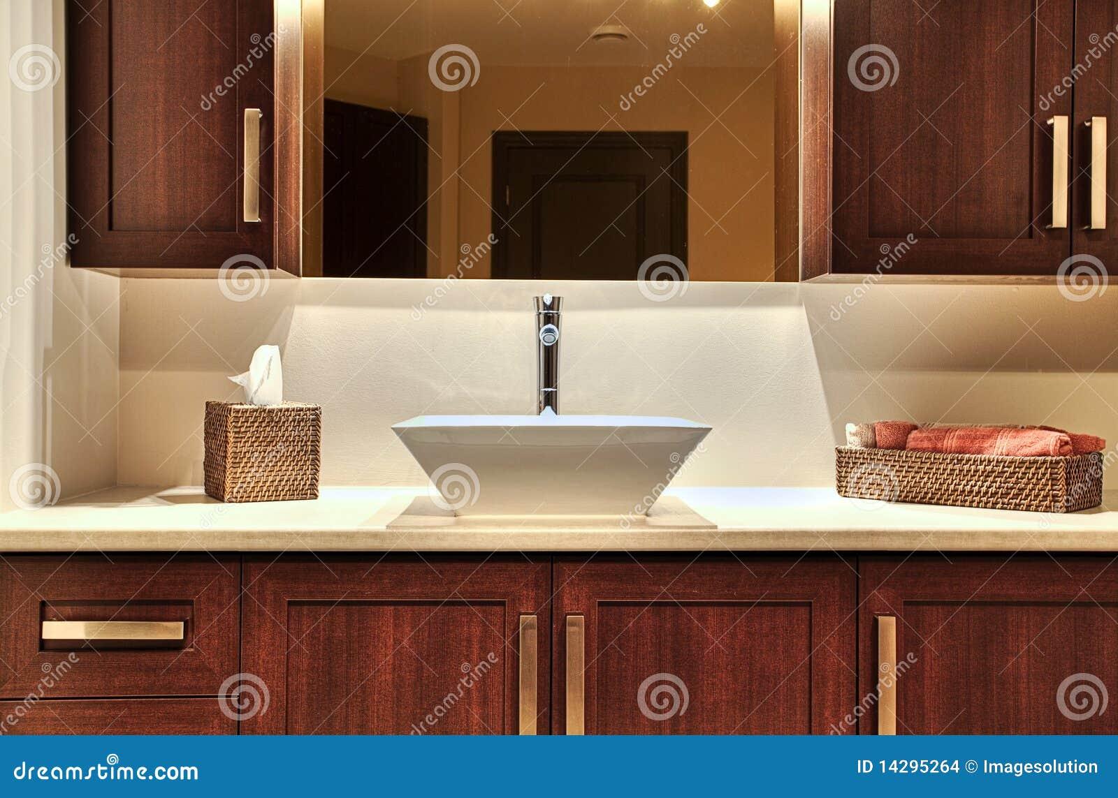 Modern washroom stock images image 14295264 for Modern washroom