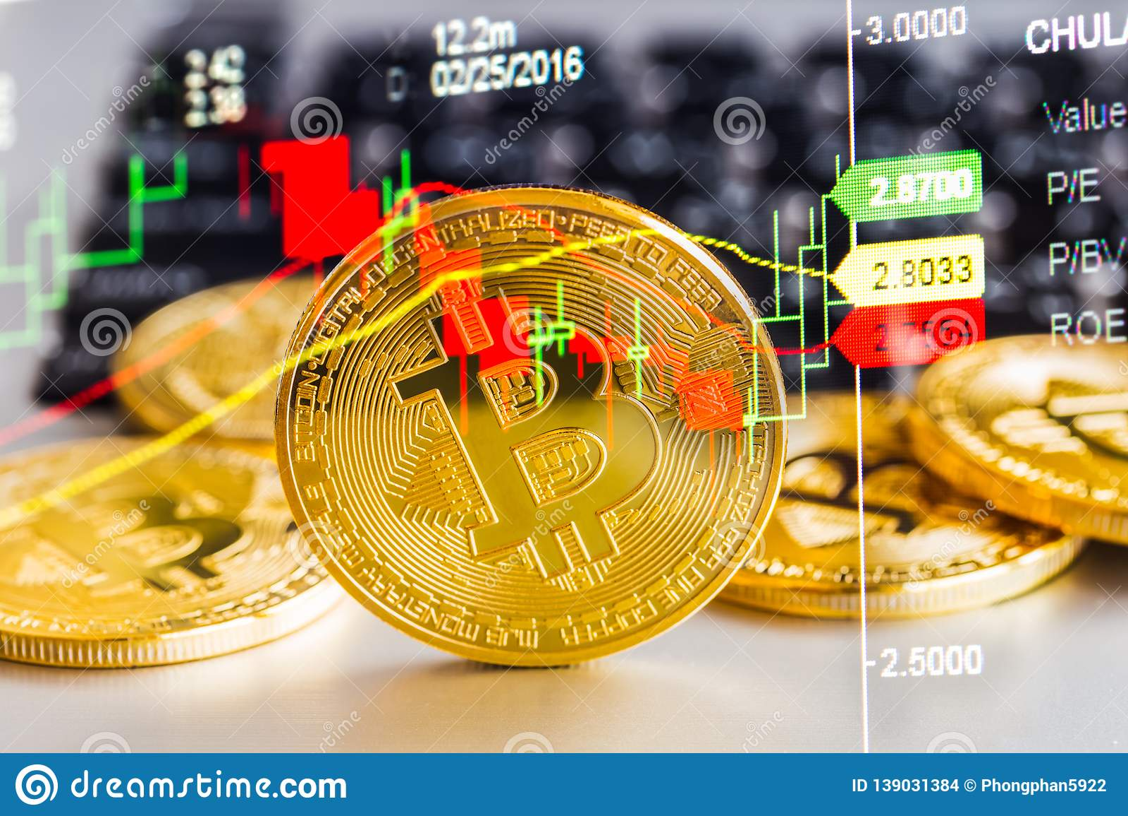 Modern Way Of Exchange. Bitcoin Is Convenient Payment In ...