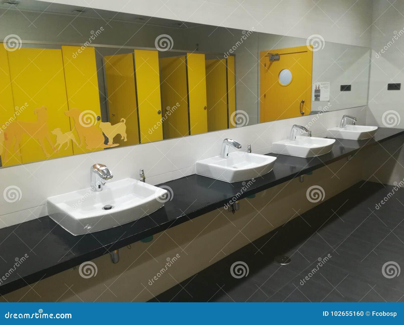 Modern Wc toilet stock photo. Image of restroom, bathroom - 102655160
