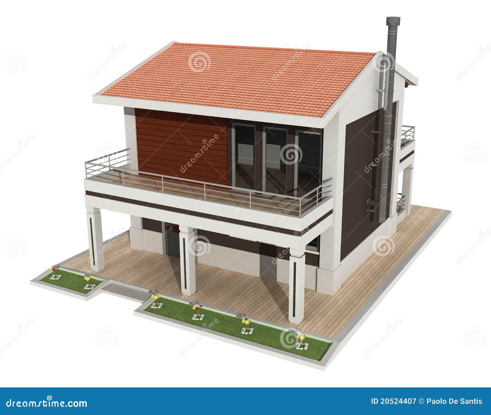Small Business Office Floor Plans Modern White F 246 R Brunt Hus Royaltyfri Fotografi Bild