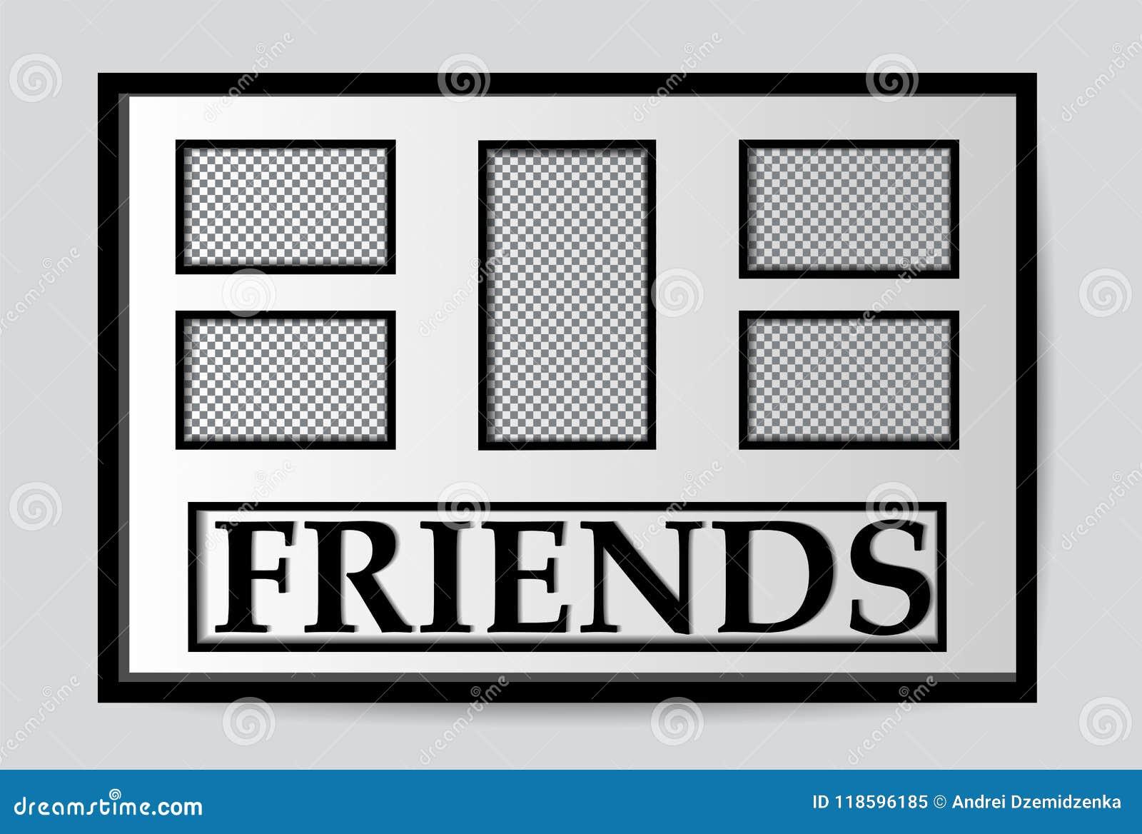 Modern White Picture Frames Mock Up Stock Vector - Illustration of ...