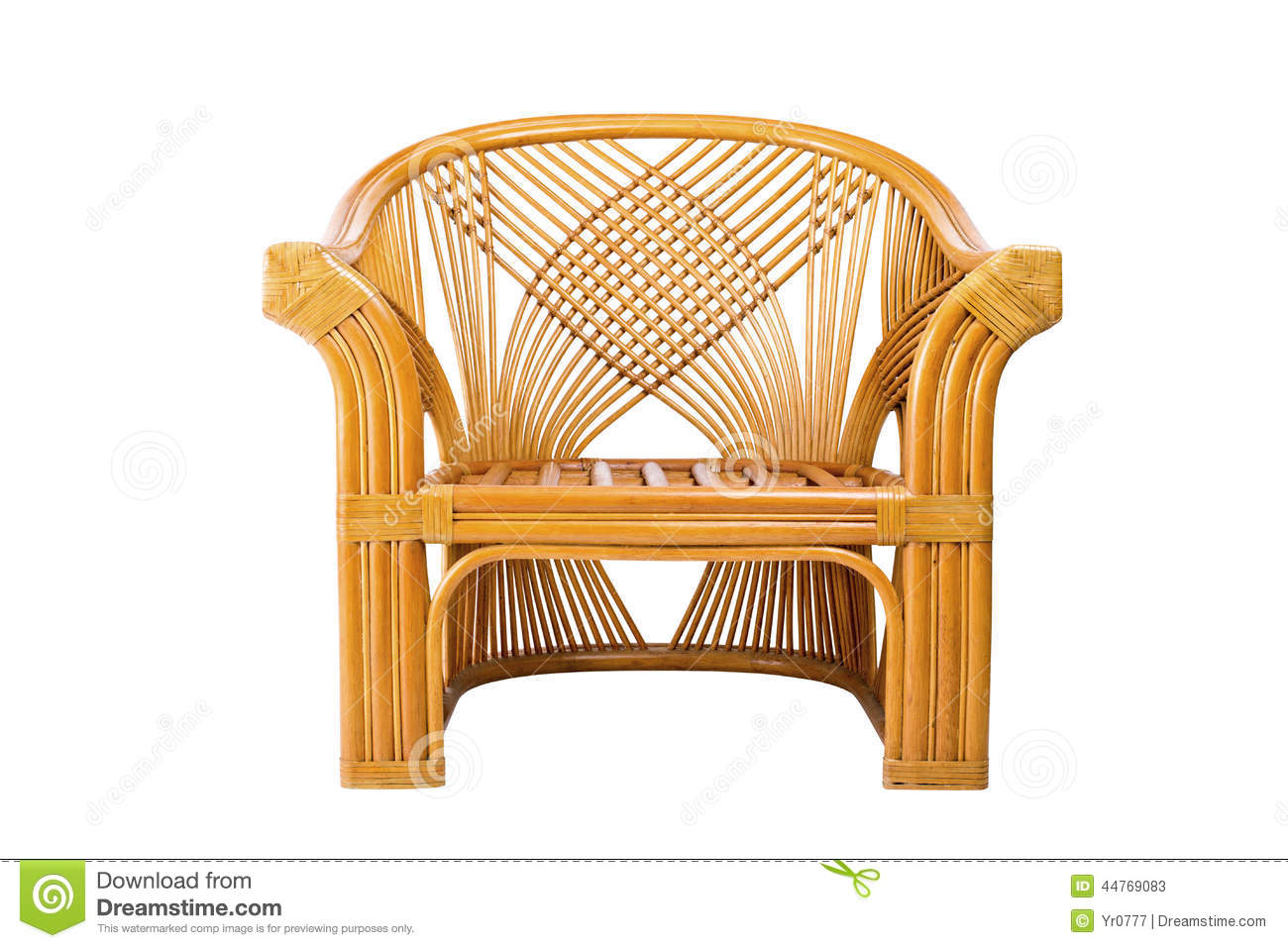 modern wicker chair isolated on a white background stock. Black Bedroom Furniture Sets. Home Design Ideas