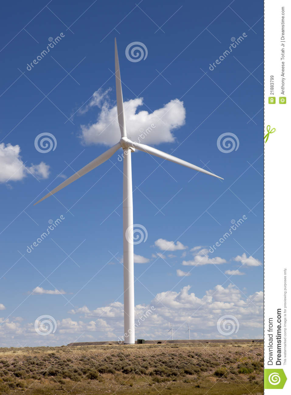modern wind turbine royalty free stock images image