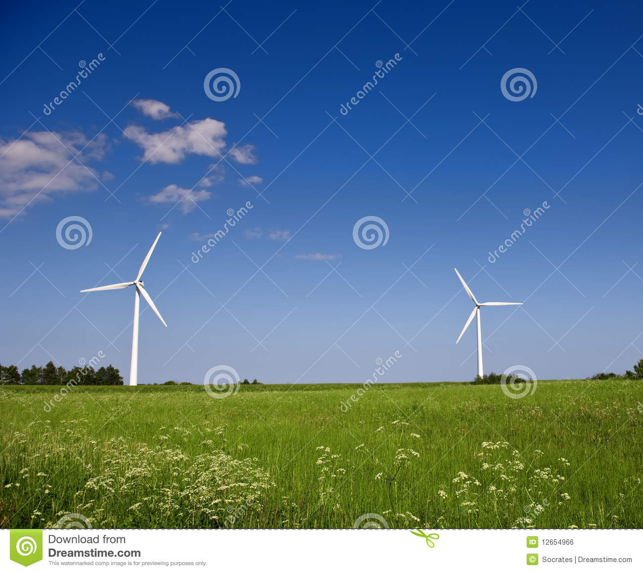 modern windmills royalty free stock image image 12654966
