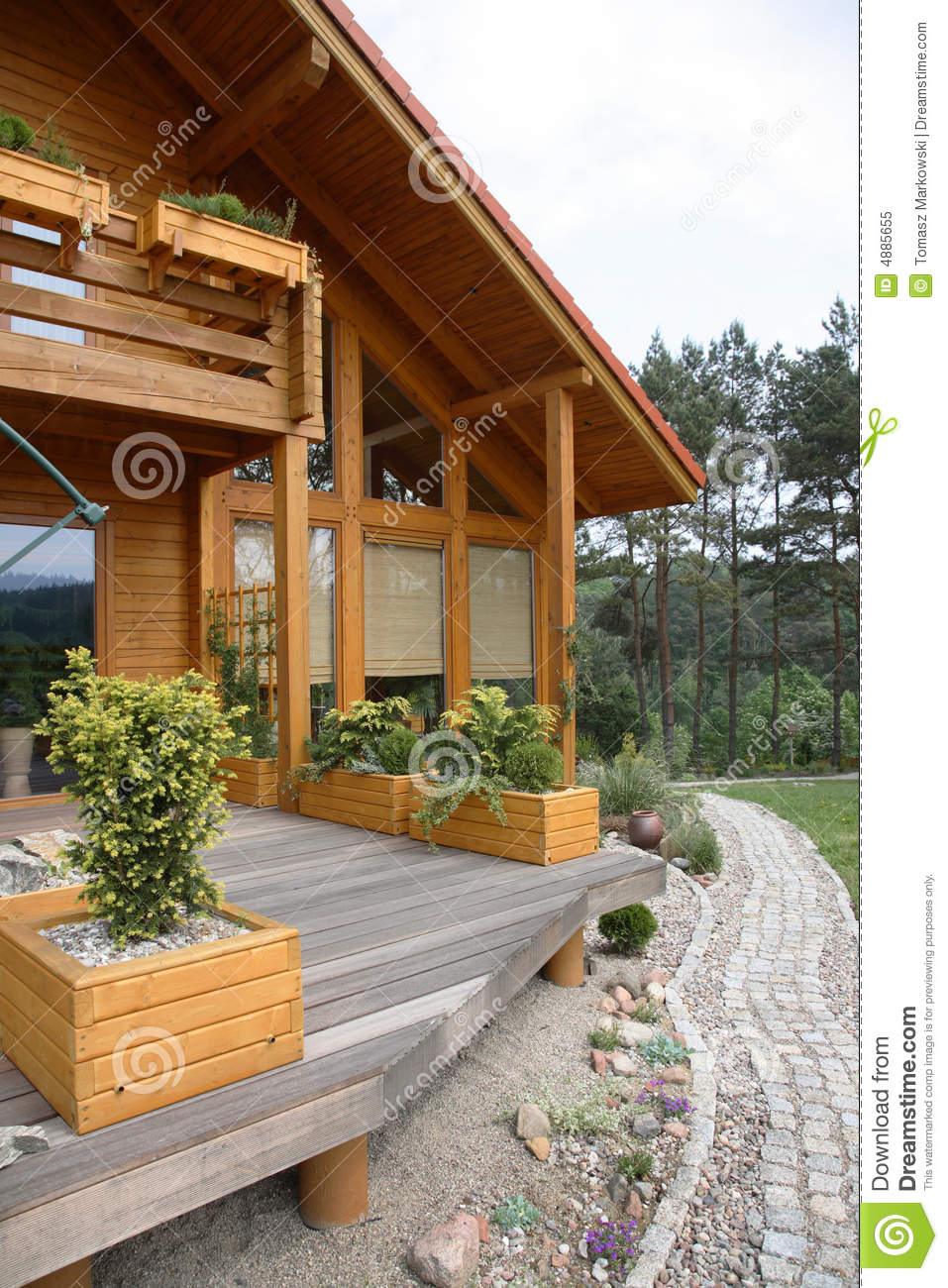 Modern Wood Country House