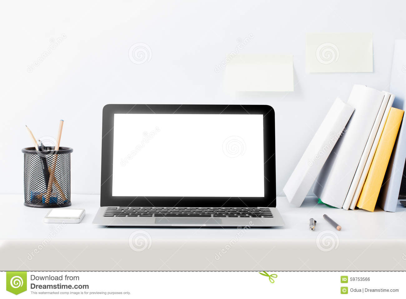 modern work desk concept stock photo - image: 59753566
