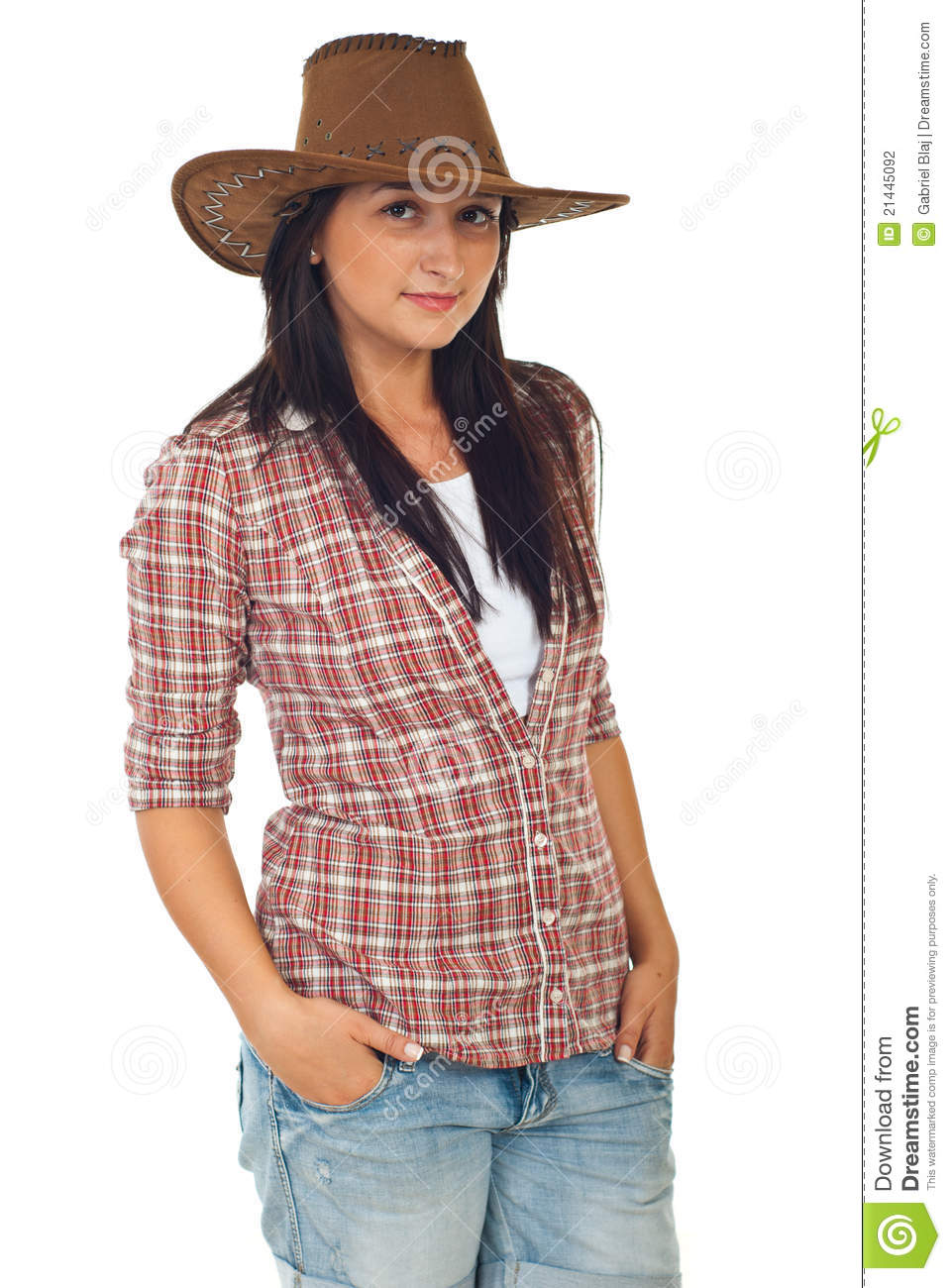 Modern cowboy outfit for women - photo#11