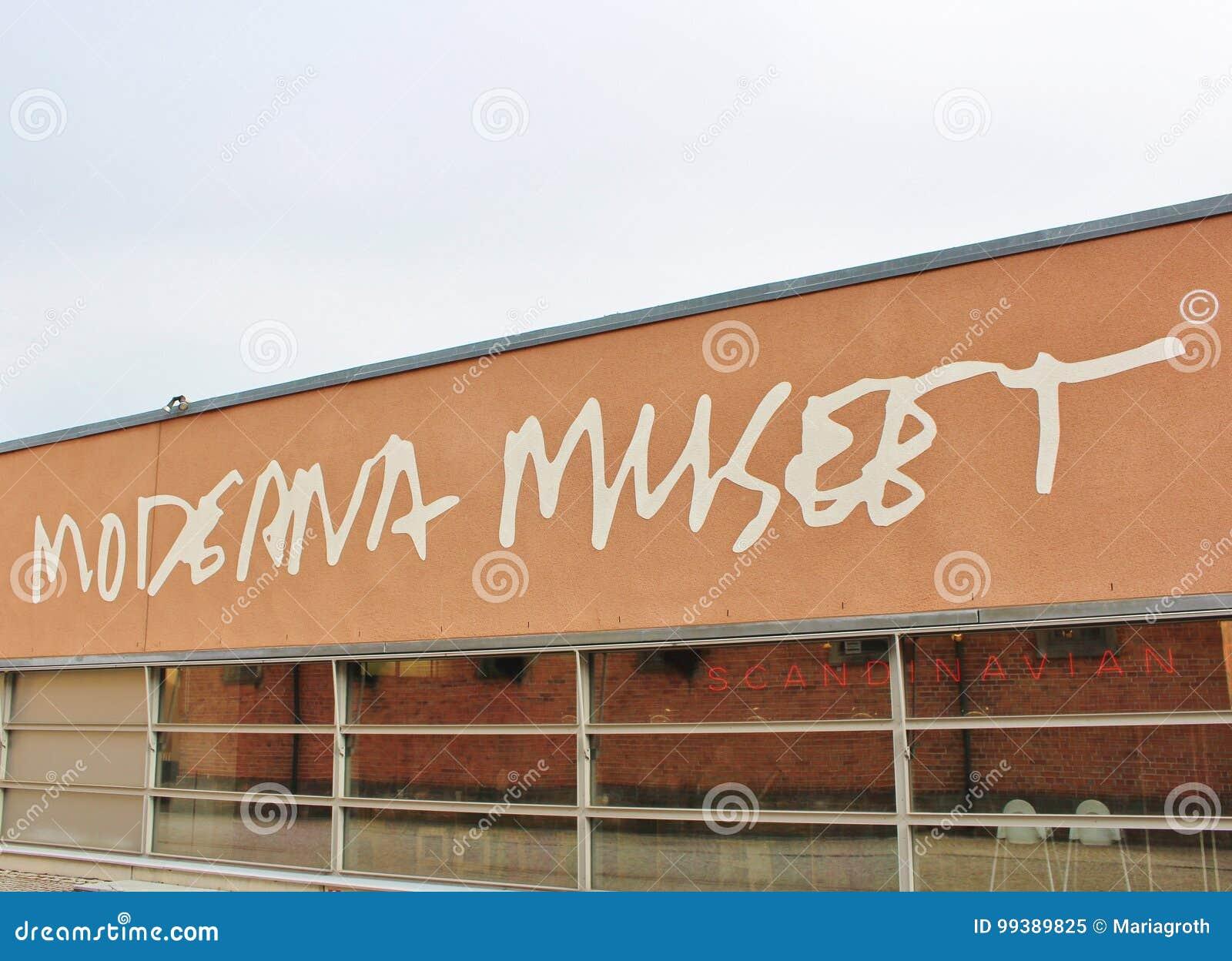 Moderna museet, Stockholm editorial image. Image of artist ...