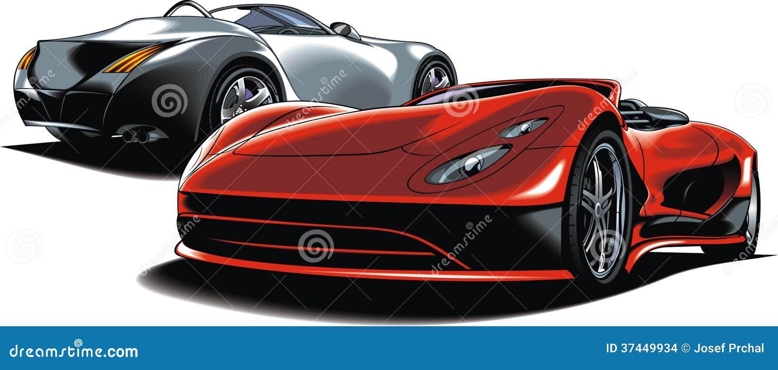 Moderna sportbilar (min original- design)