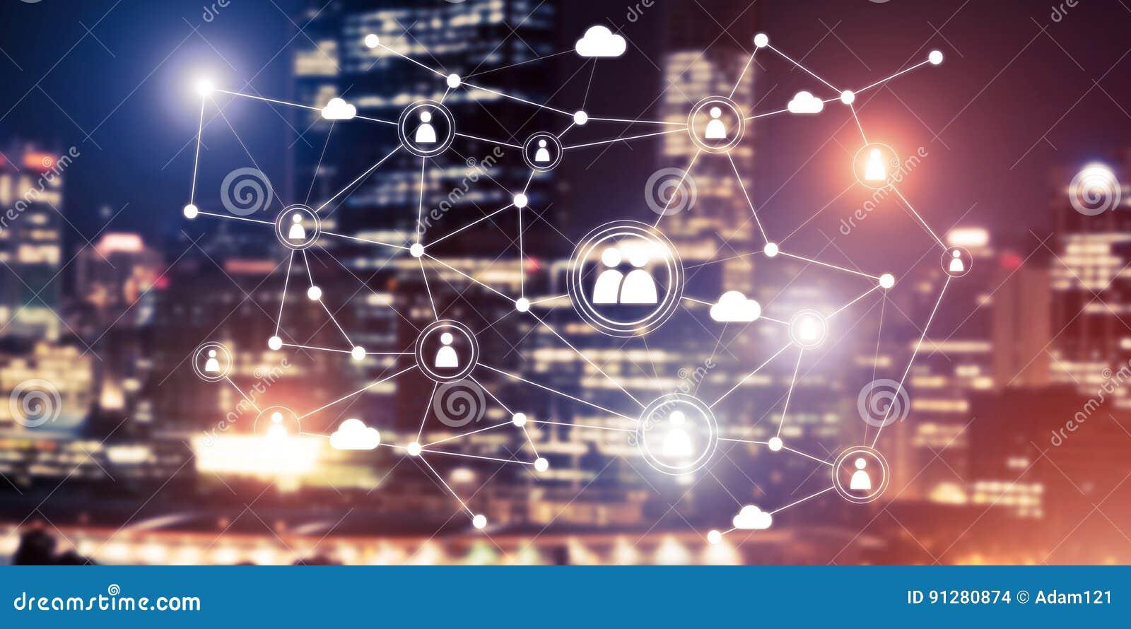 Moderna trådlösa teknologier som hjälpmedel av communucationen och netwoen