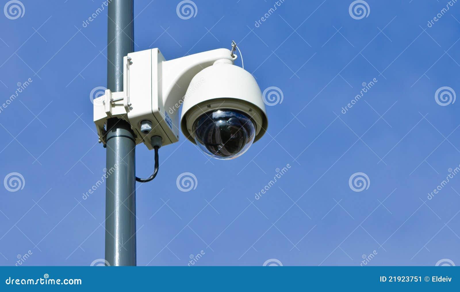 Moderne berwachungskamera stockbild bild 21923751 for Camaras de vigilancia ocultas para exterior