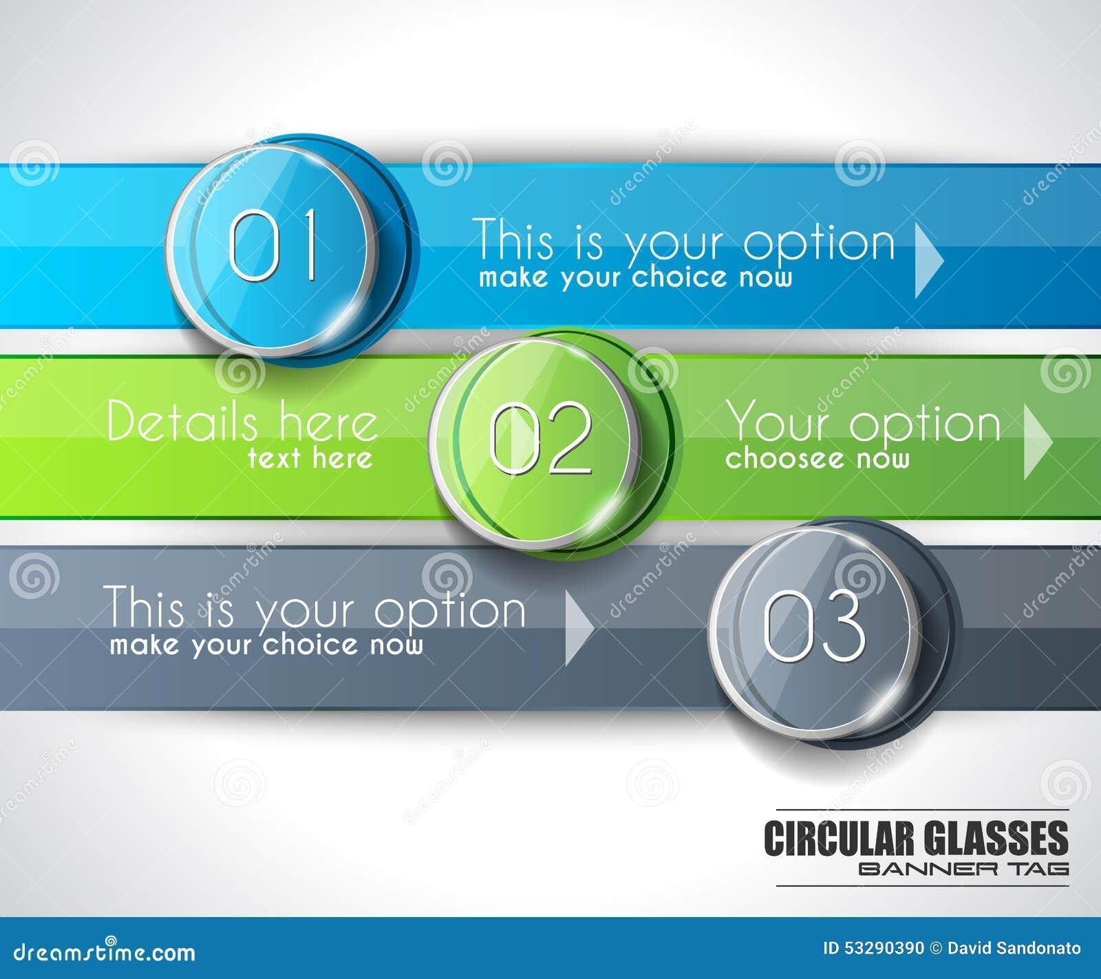 Moderne abstrakte Infographic-Schablone, zum von Daten, Produkte anzuzeigen