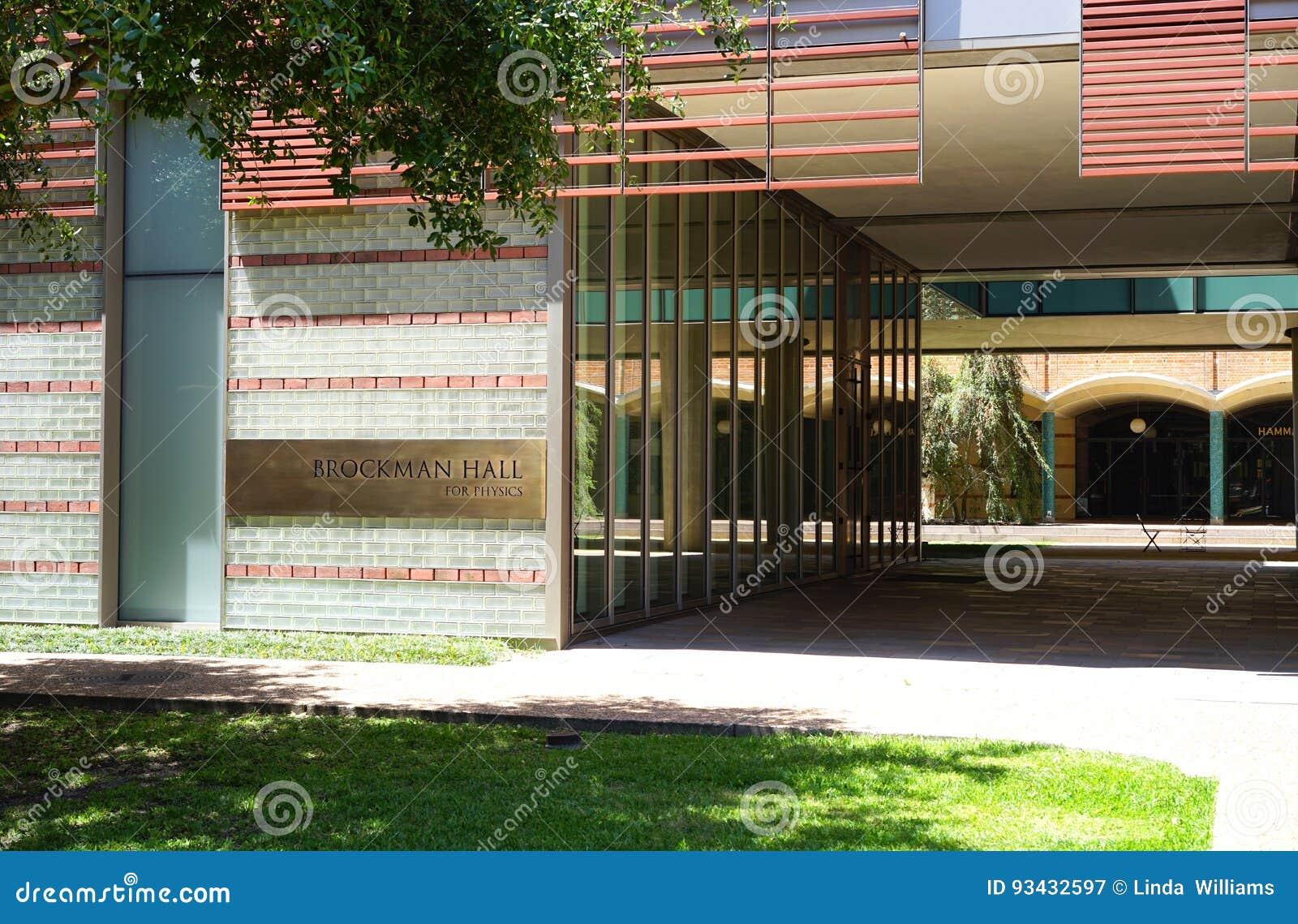 Moderne Architektur auf Texas-Campus