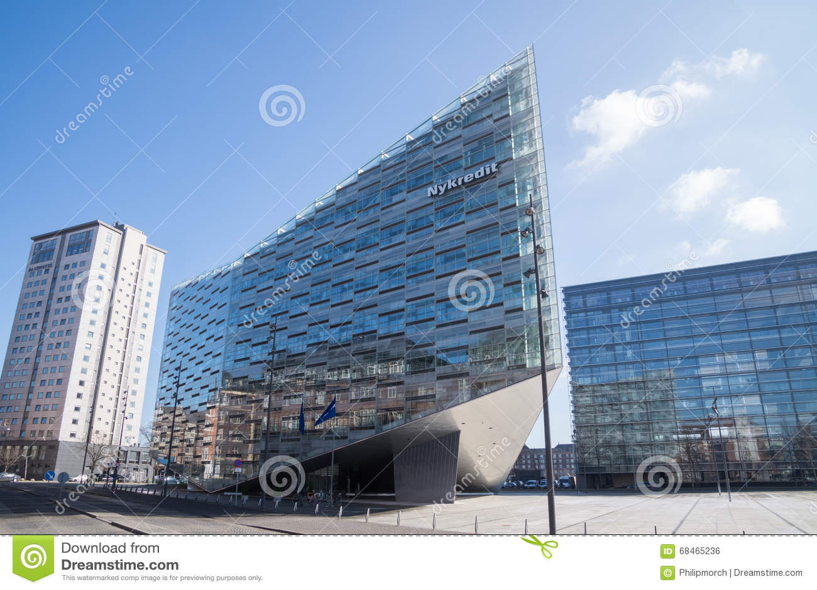 moderne architektur der kristall kopenhagen d nemark redaktionelles foto bild 68465236. Black Bedroom Furniture Sets. Home Design Ideas