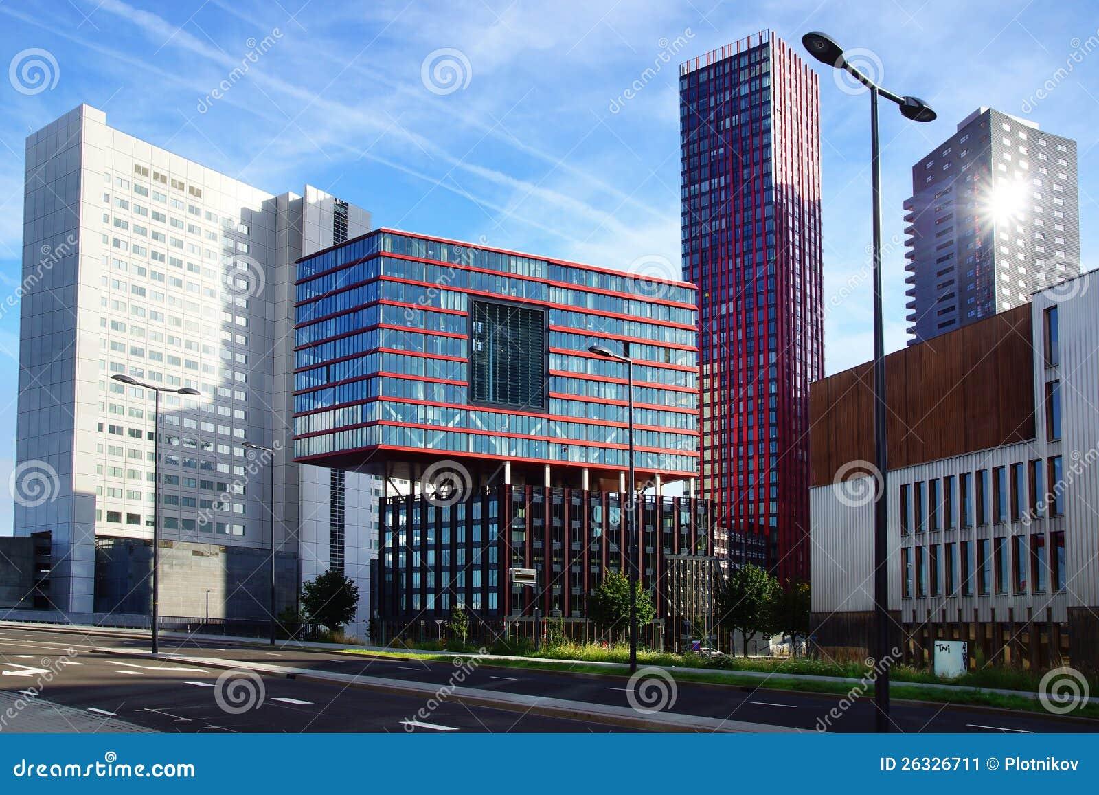 Moderne architektur im rotterdam die niederlande - Architektur moderne ...