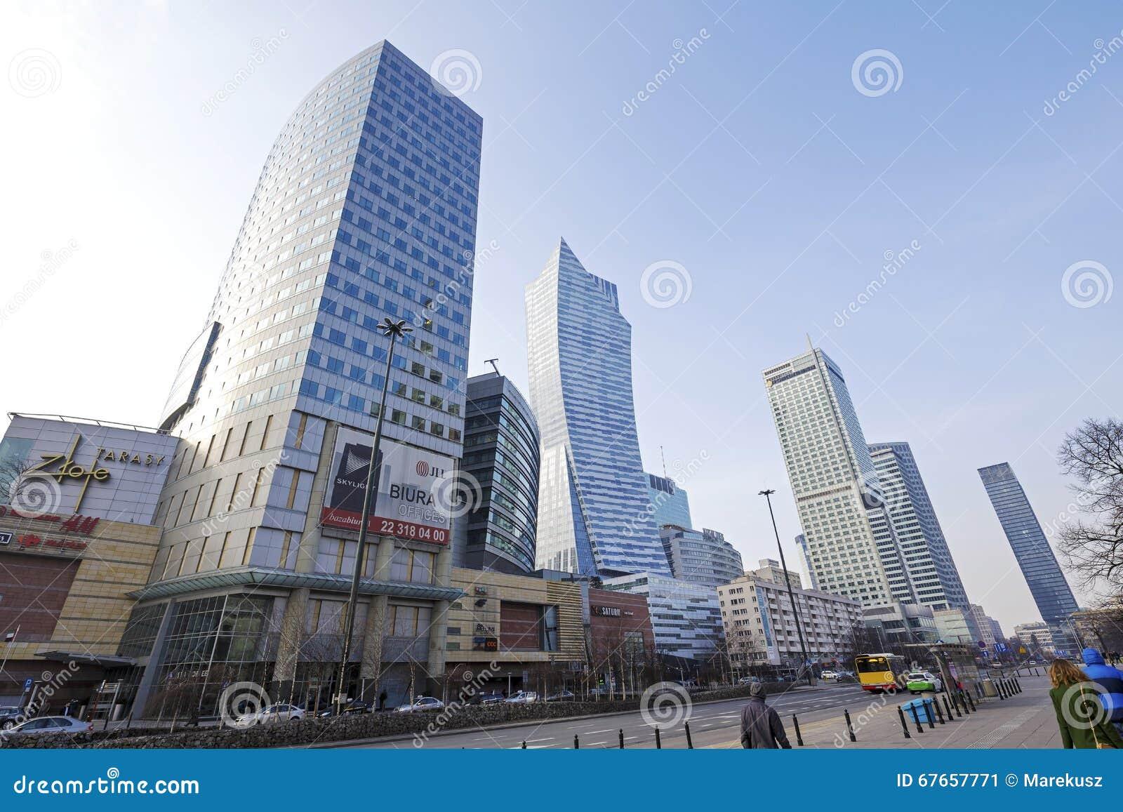 Moderne architektur in warschau redaktionelles foto bild for Moderne architektur
