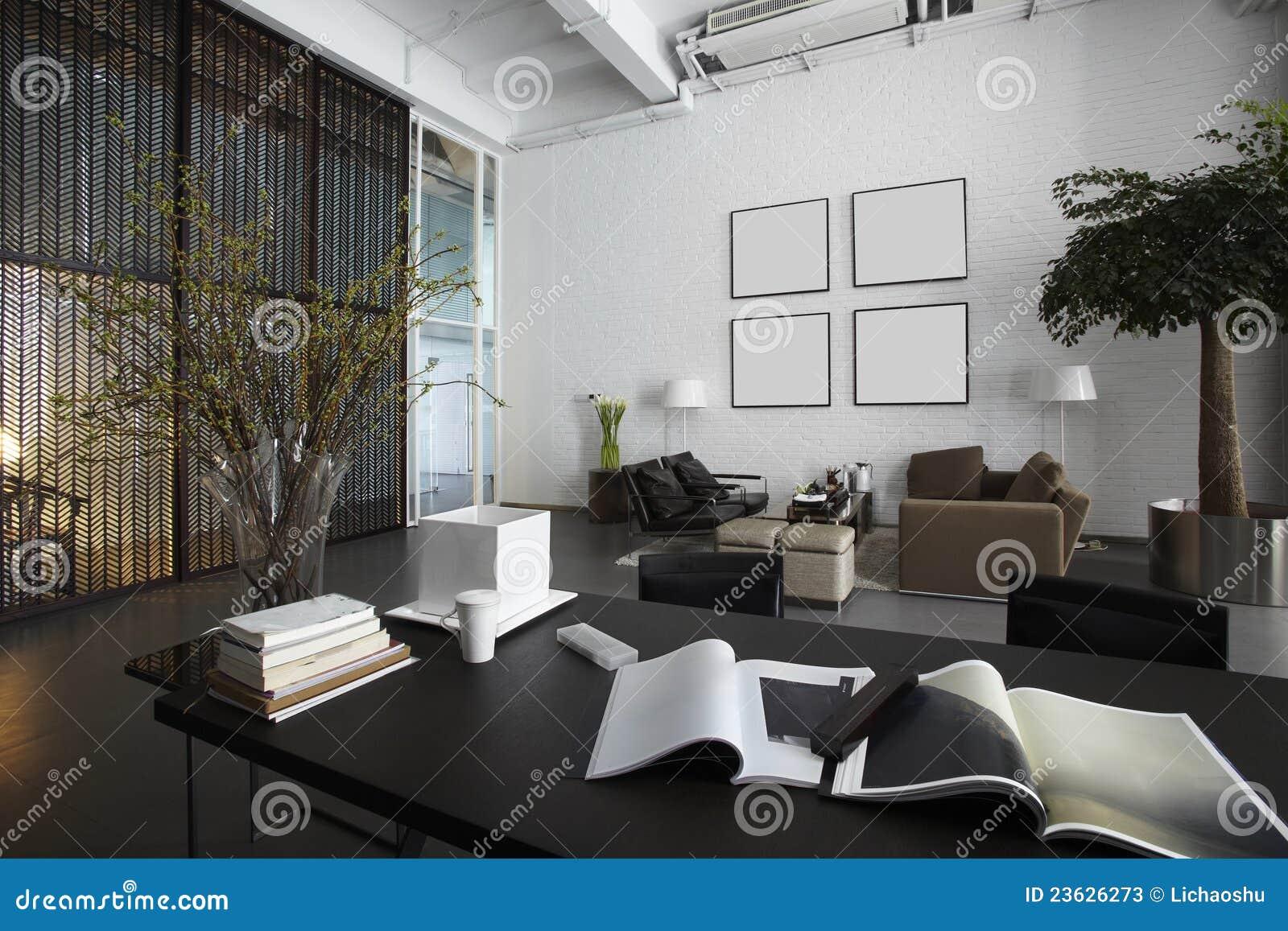 Moderne Büroräume stockbild. Bild von dekor, schlafzimmer - 23626273