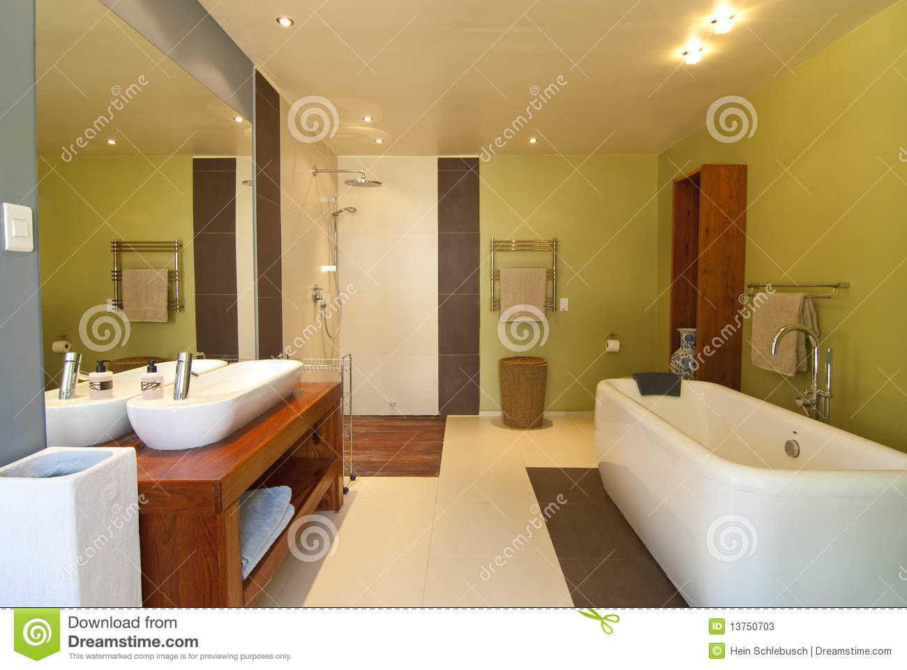 Moderne badkamers stock foto 39 s afbeelding 13750703 - Moderne douche fotos ...