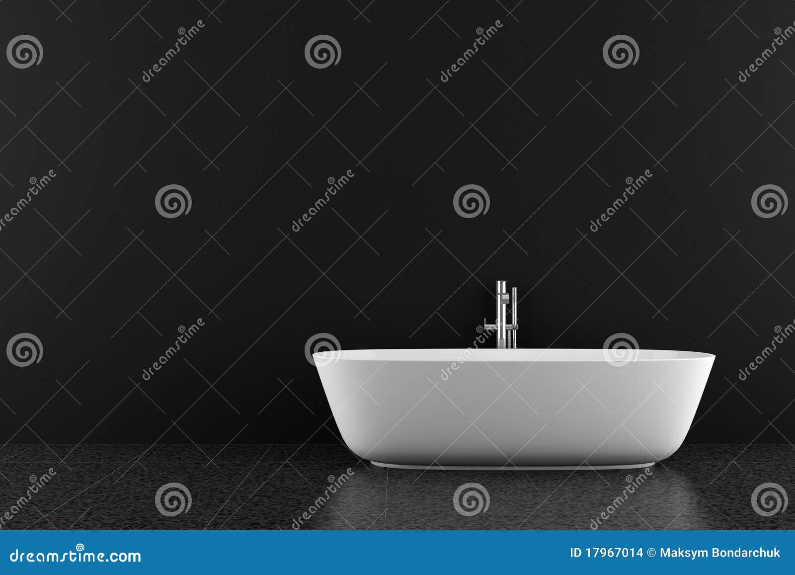 Moderne badkamers met zwarte vloer stock afbeeldingen afbeelding 17967014 for Moderne badkamers