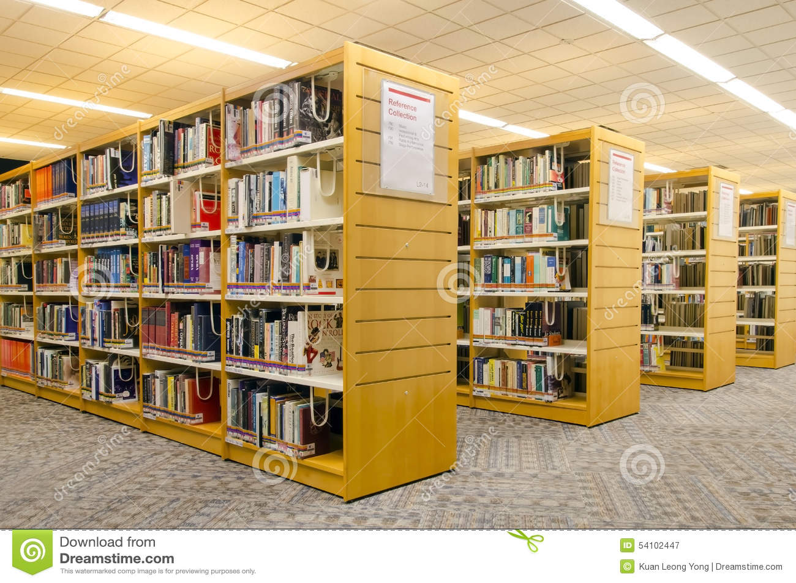 Moderne bibliotheek redactionele fotografie afbeelding 54102447 - Moderne bibliotheek ...