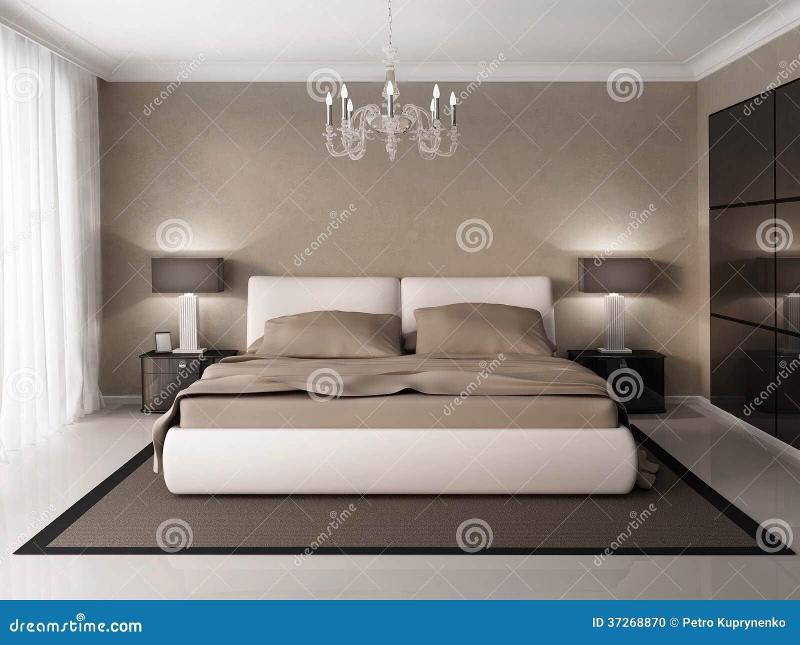 Moderne Binnenlandse slaapkamer