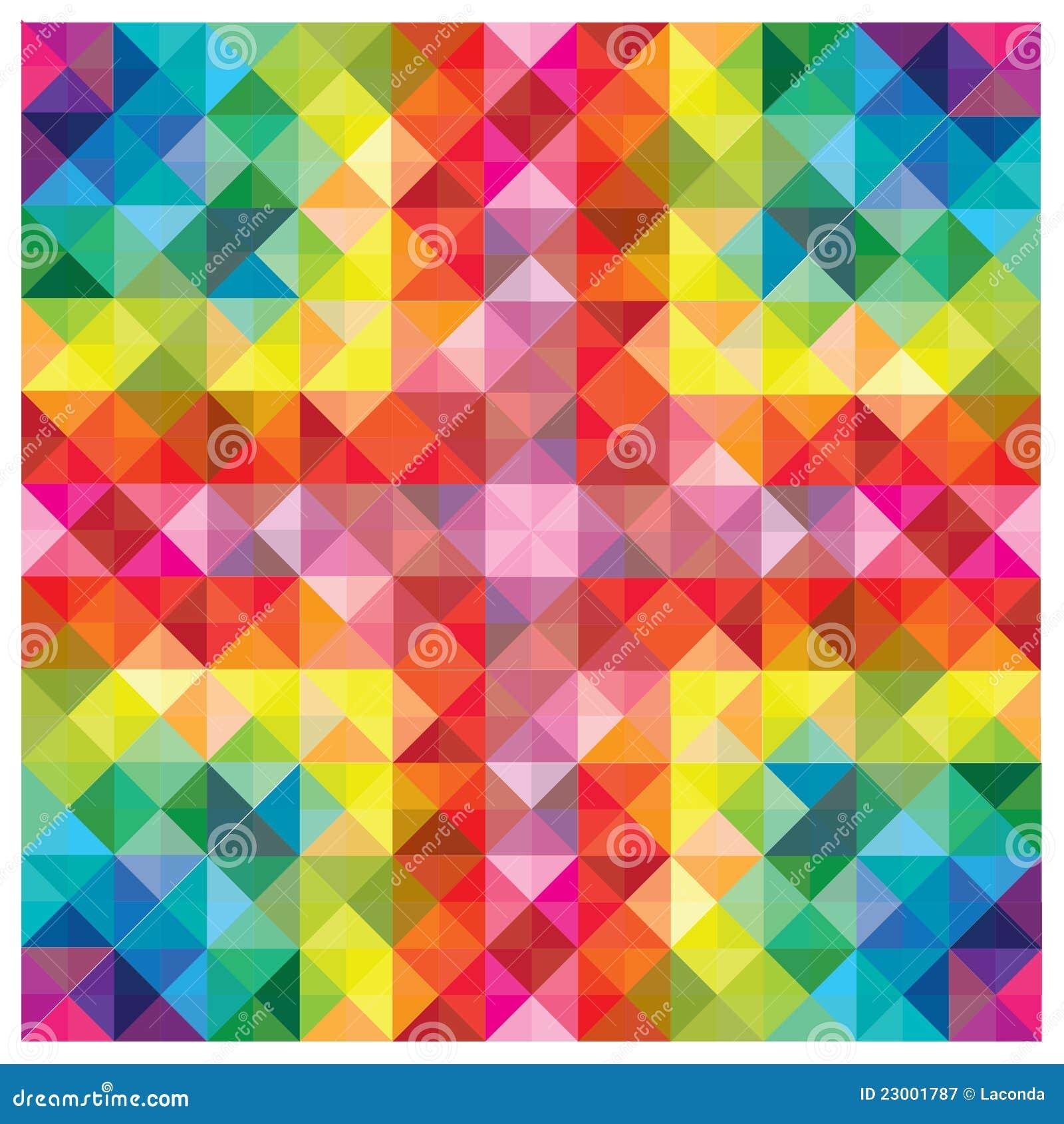 Moderne bunte elemente am abstrakten muster lizenzfreie - Moderne muster ...