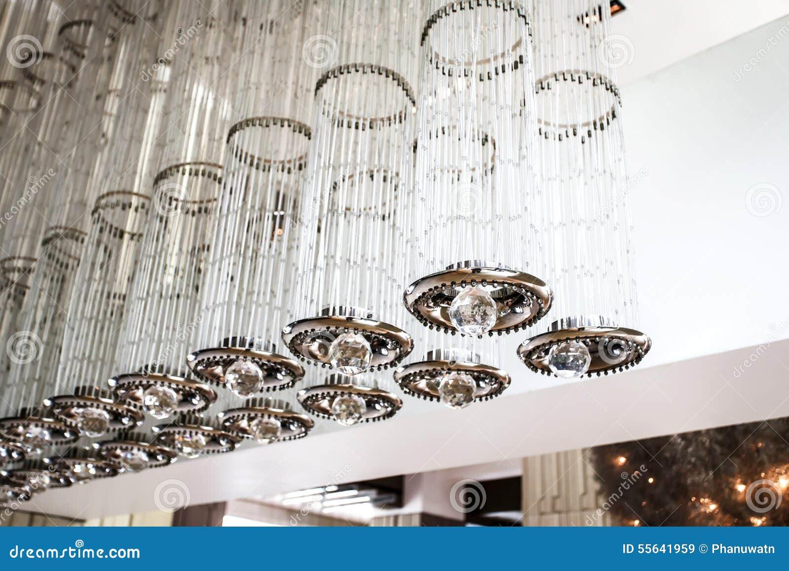 Moderne deckenbeleuchtung stockfoto bild 55641959 for Moderne deckenbeleuchtung