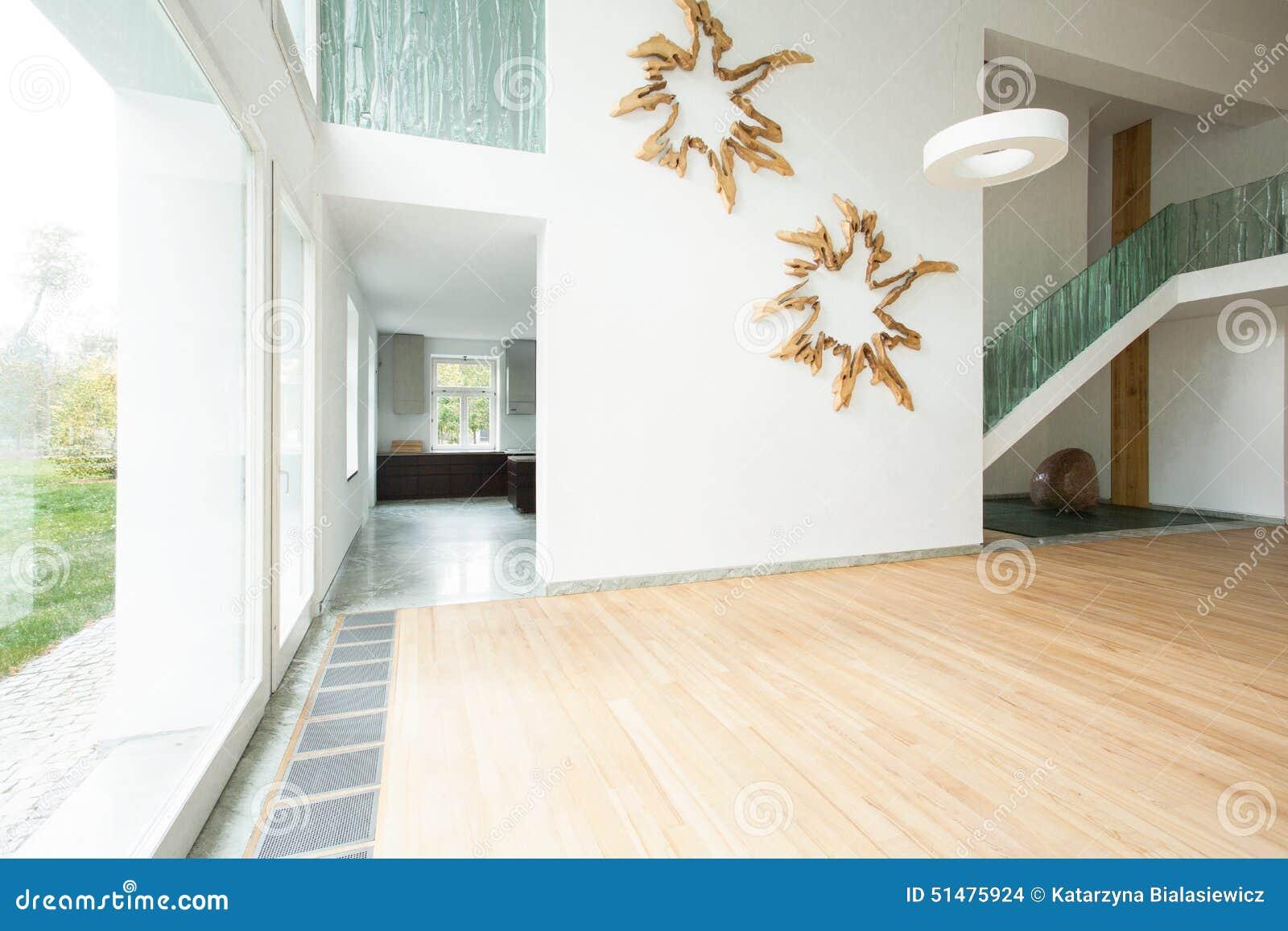 Moderne decoratie op de muur stock foto afbeelding bestaande uit
