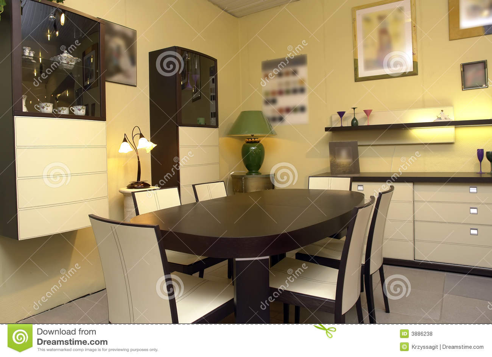 Moderne eetkamer royalty vrije stock foto 39 s beeld 3886238 - Moderne eetkamer ...