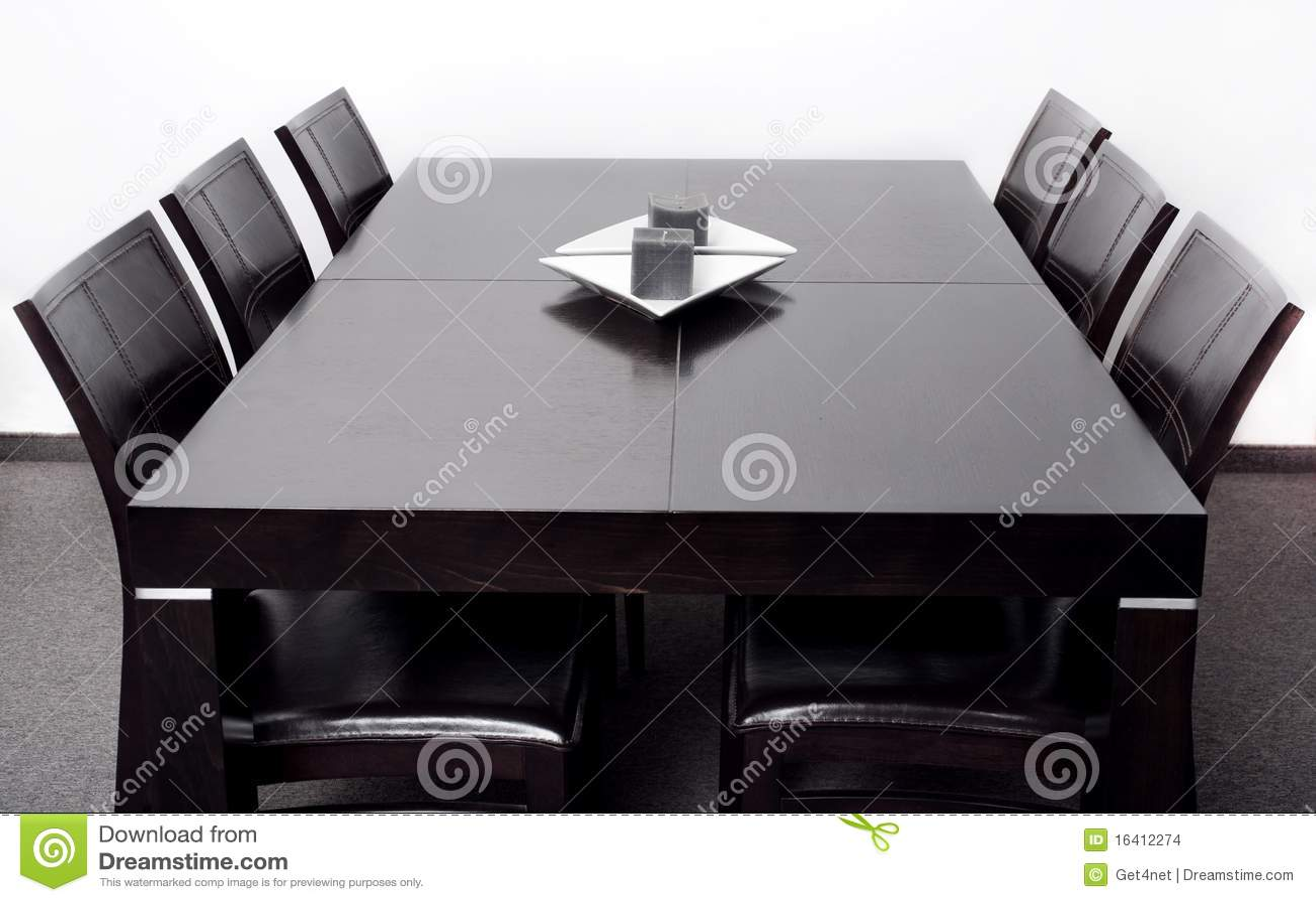 Moderne eettafel stock afbeeldingen beeld 16412274 - Moderne eettafel ...