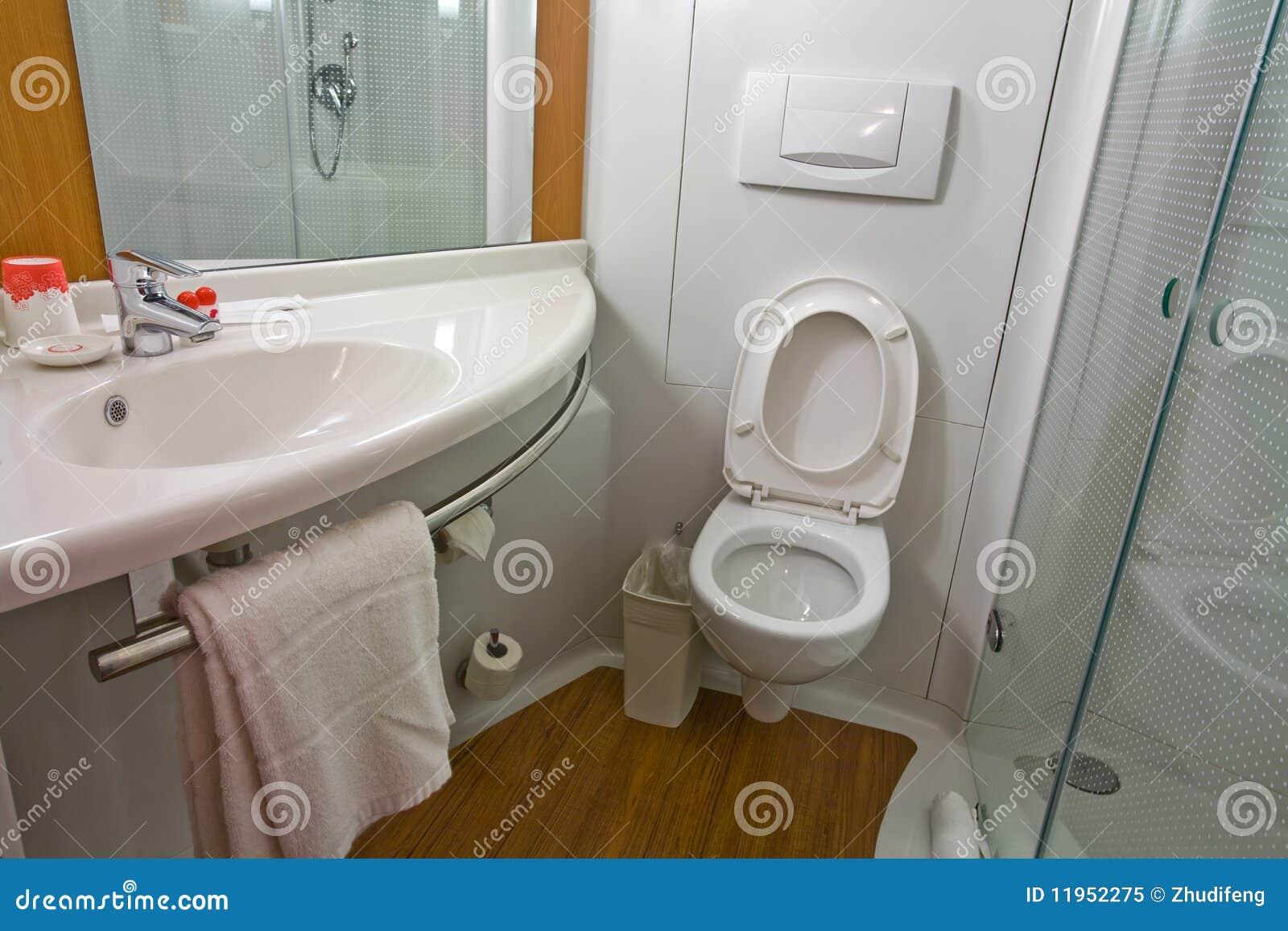 Moderne en praktische badkamers royalty vrije stock foto afbeelding 11952275 for Moderne badkamers