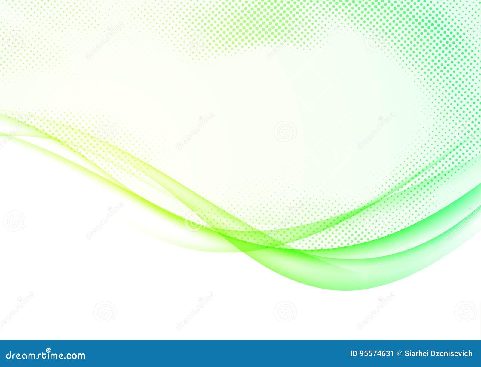 Moderne futuristische zachte de lijnengrens van de de lente swoosh golf backgroun