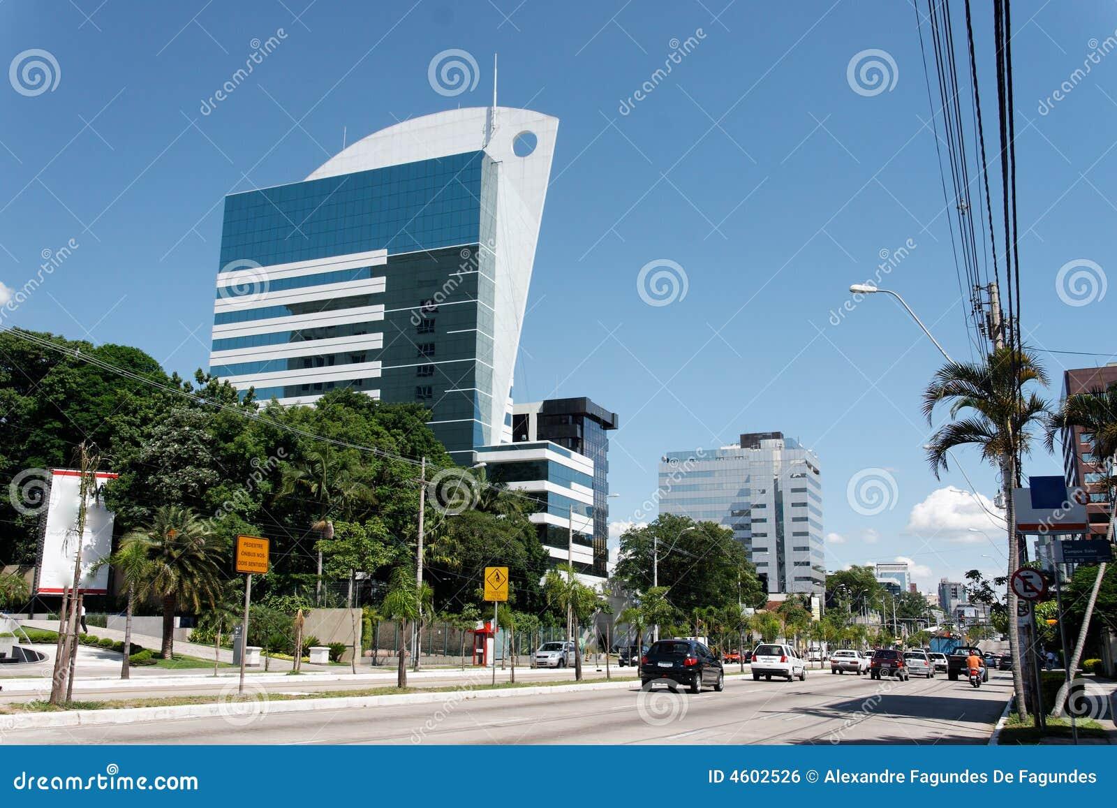Moderne Gebouwen in Porto Alegre