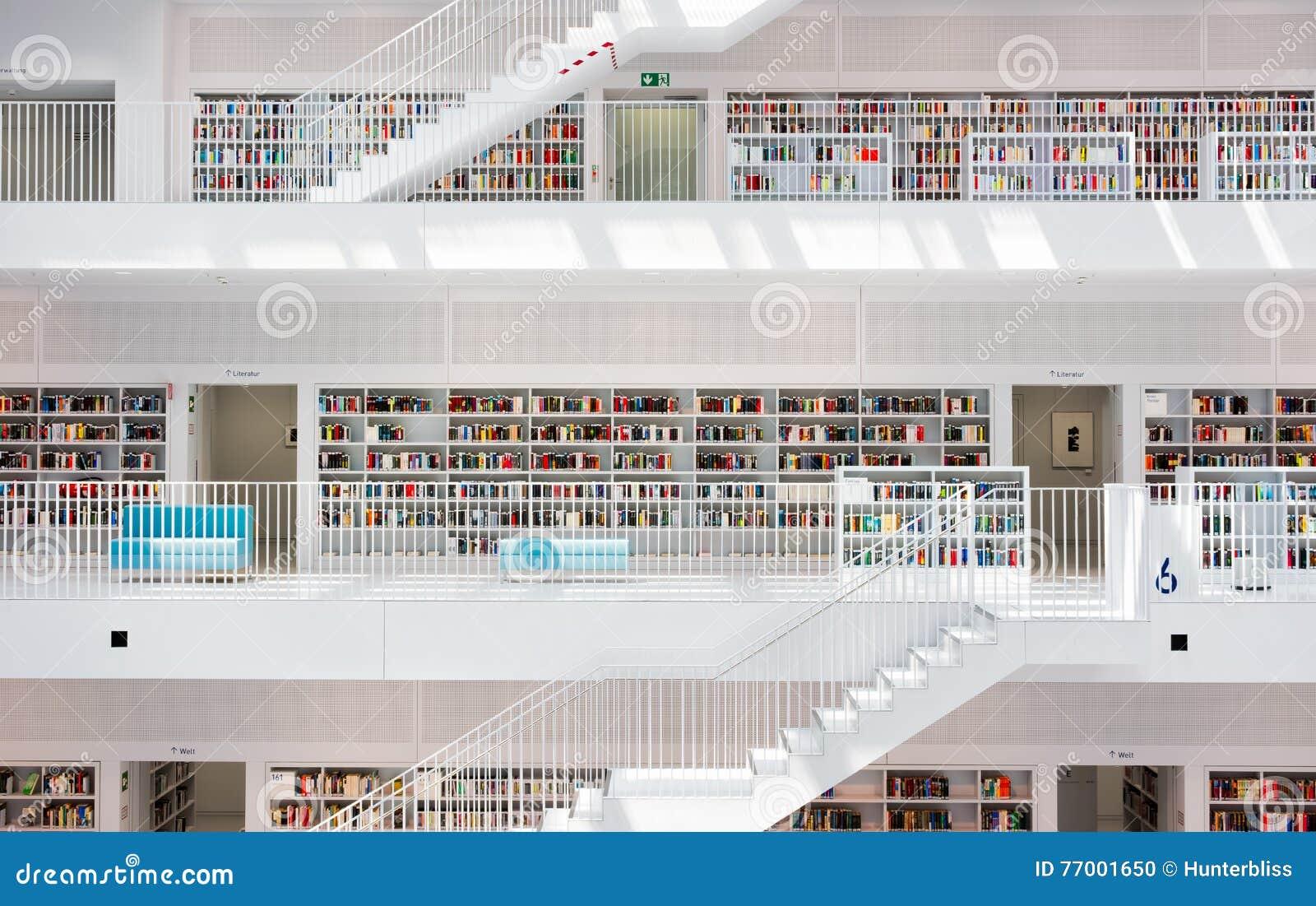 Faszinierend Innenarchitektur Stuttgart Beste Wahl Pattern Moderne Geometrische Innenarchitektur-stuttgart-stadt-bibliothek Deutschland Redaktionelles Bild