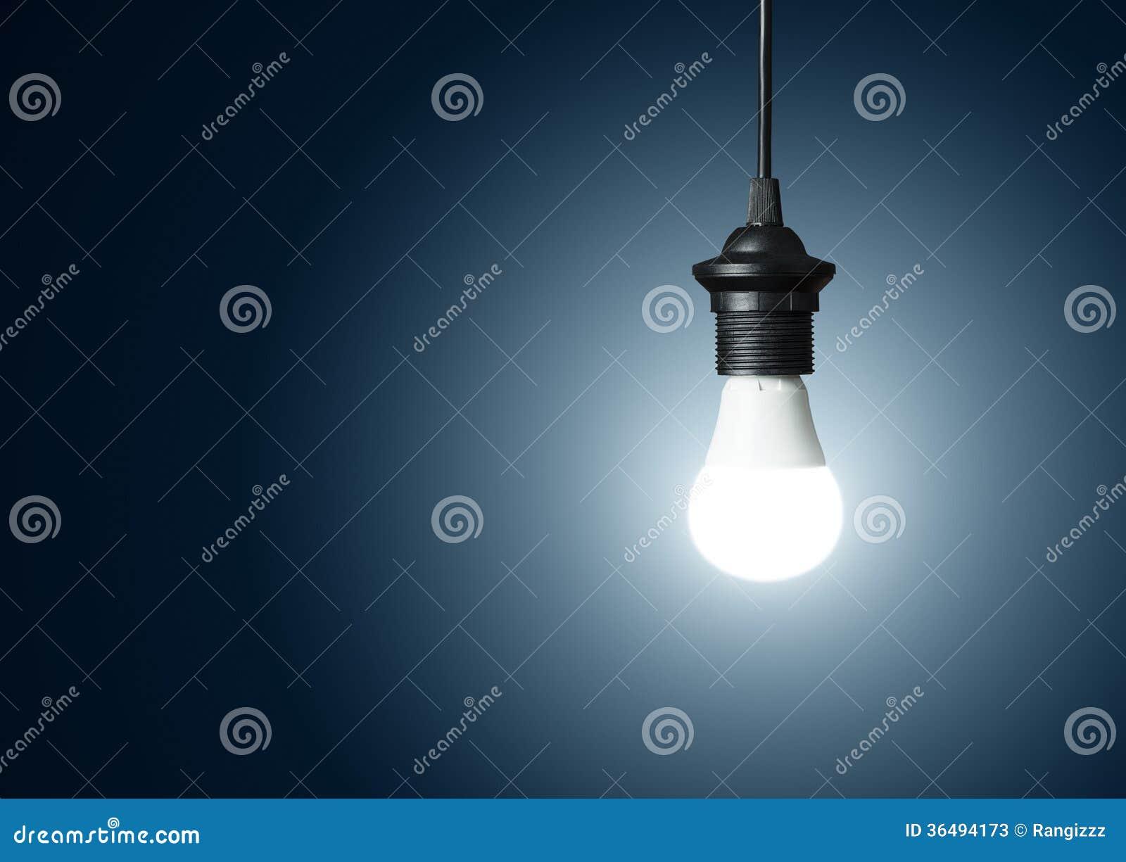 Moderne Glühlampe