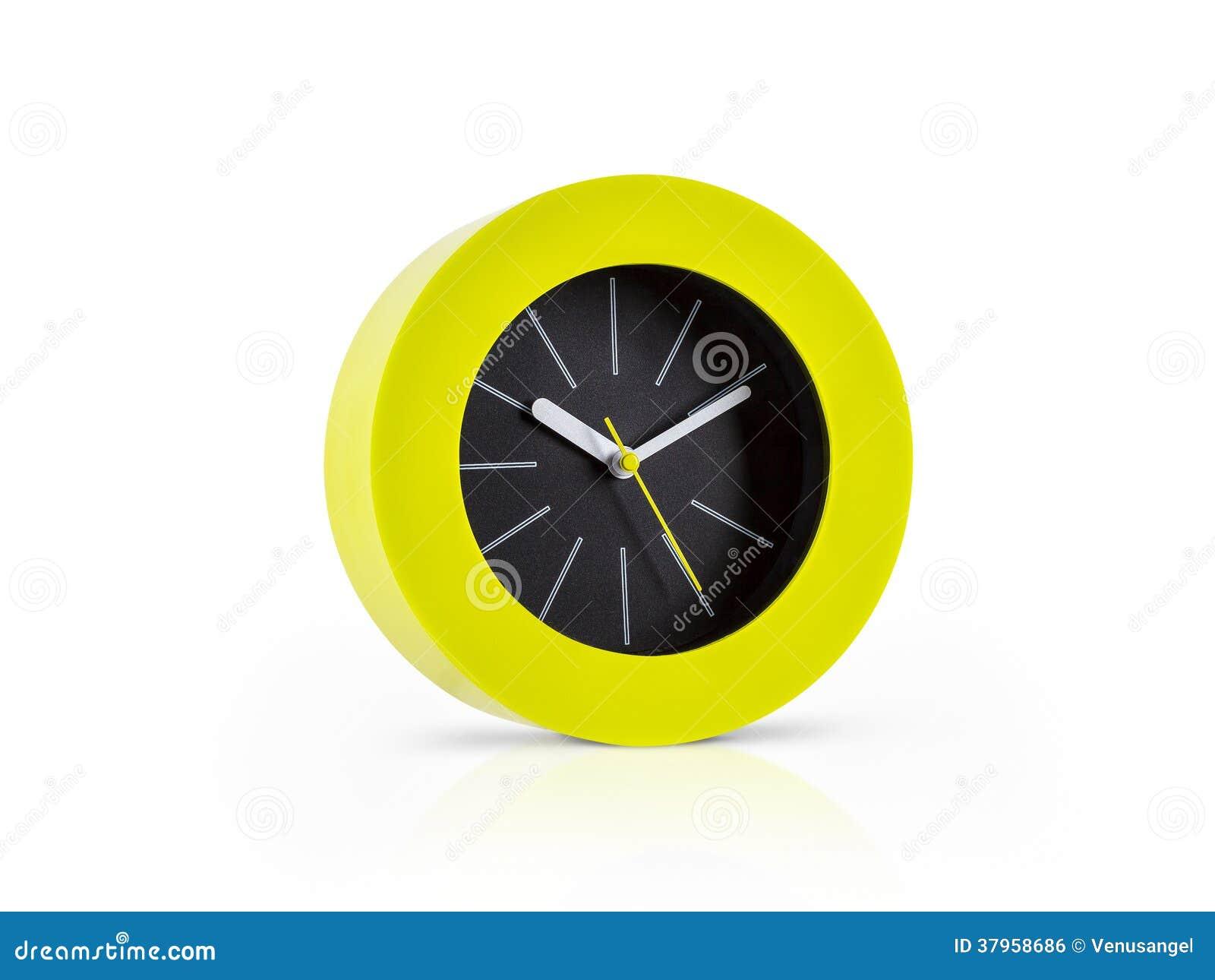 Moderne groene klok